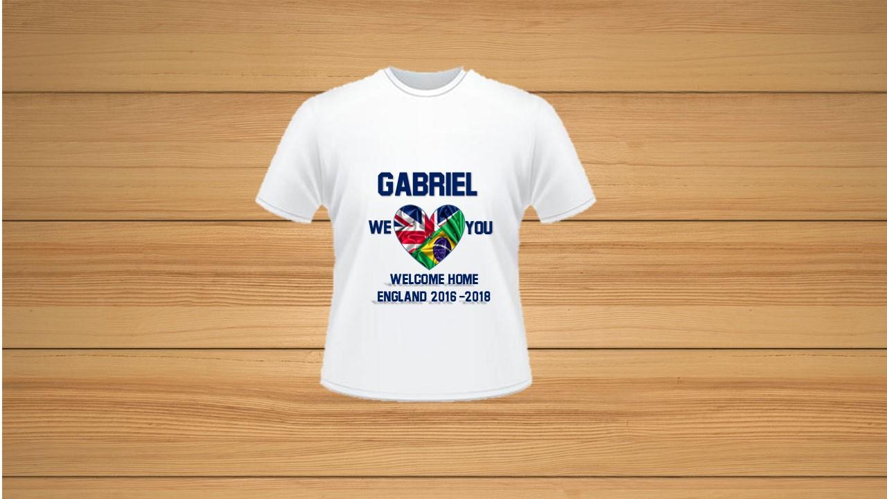 Kit Camiseta Personalizada Inglaterra com 9  bf6bbf6346eb3