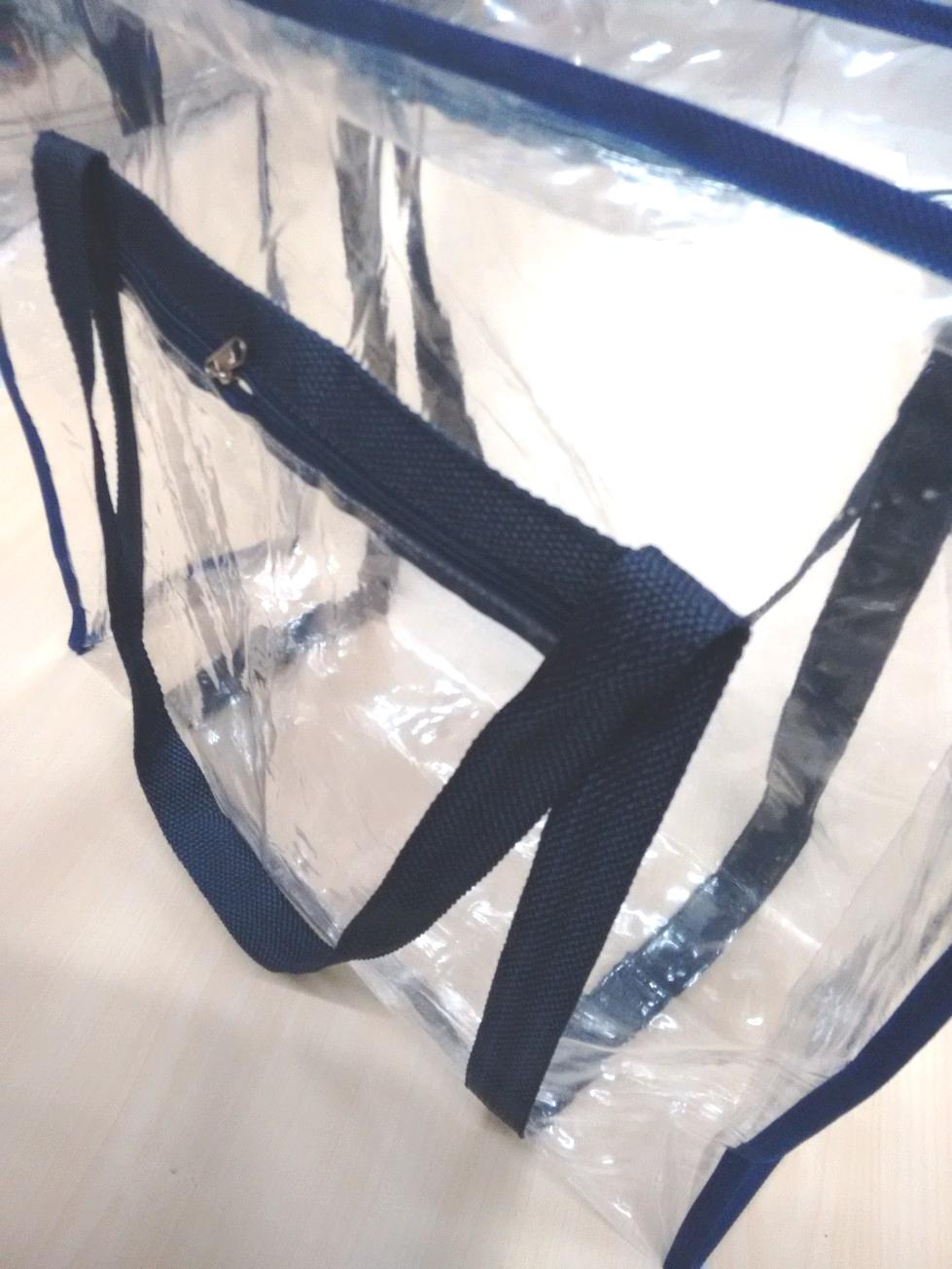 e81419720 Sacola em PVC Cristal Média no Elo7 | Mania Mariana (B71351)