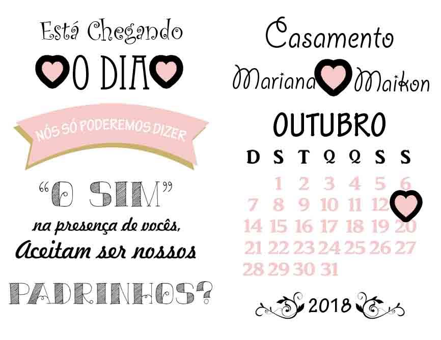 Convite Digital Padrinho No Elo7 Te Convite B717e6