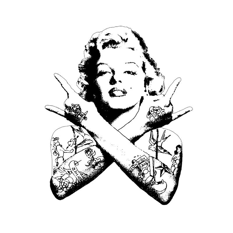 Camiseta Marilyn Monroe Rock Masculina no Elo7  09eaa3db85bf0