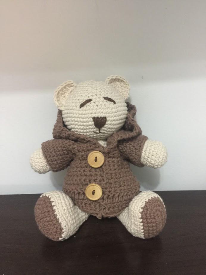 Urso doce Amigurumi de crochê de pelúcia padrão livre - Amigurumi ... | 923x692
