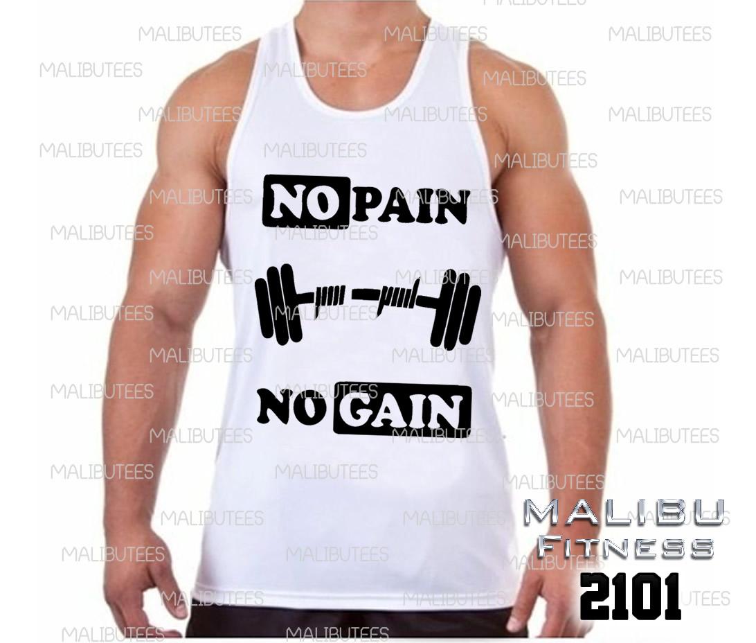 Camiseta No Pain No Gain 2  ea5db7468b2