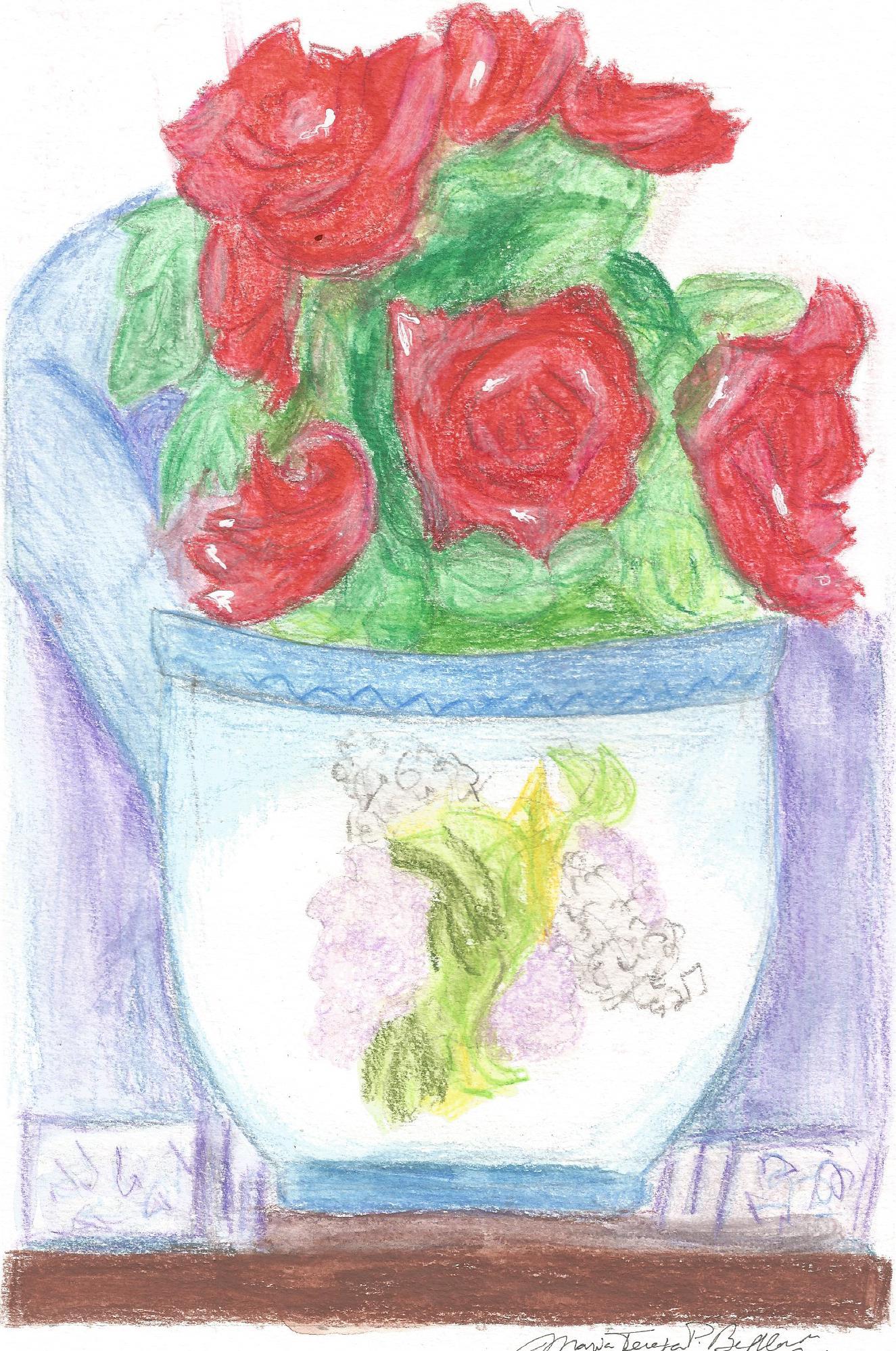Flores E Cenas Colecao De Maria Tereza Pamplona Bethlem Tileza
