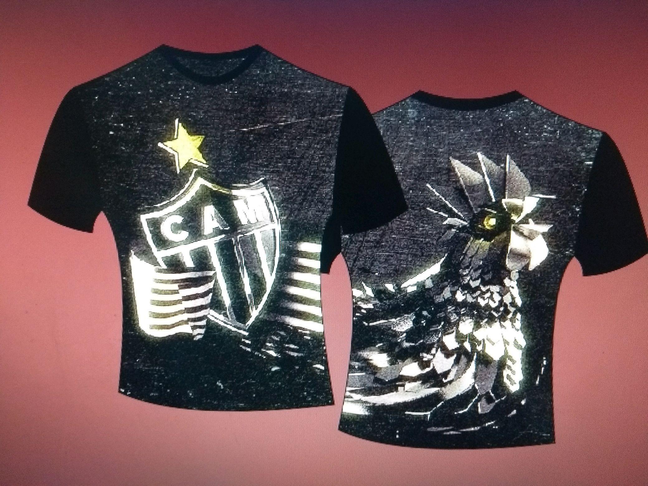 c316ac6f04 Camiseta Feminina Atletico Mineiro