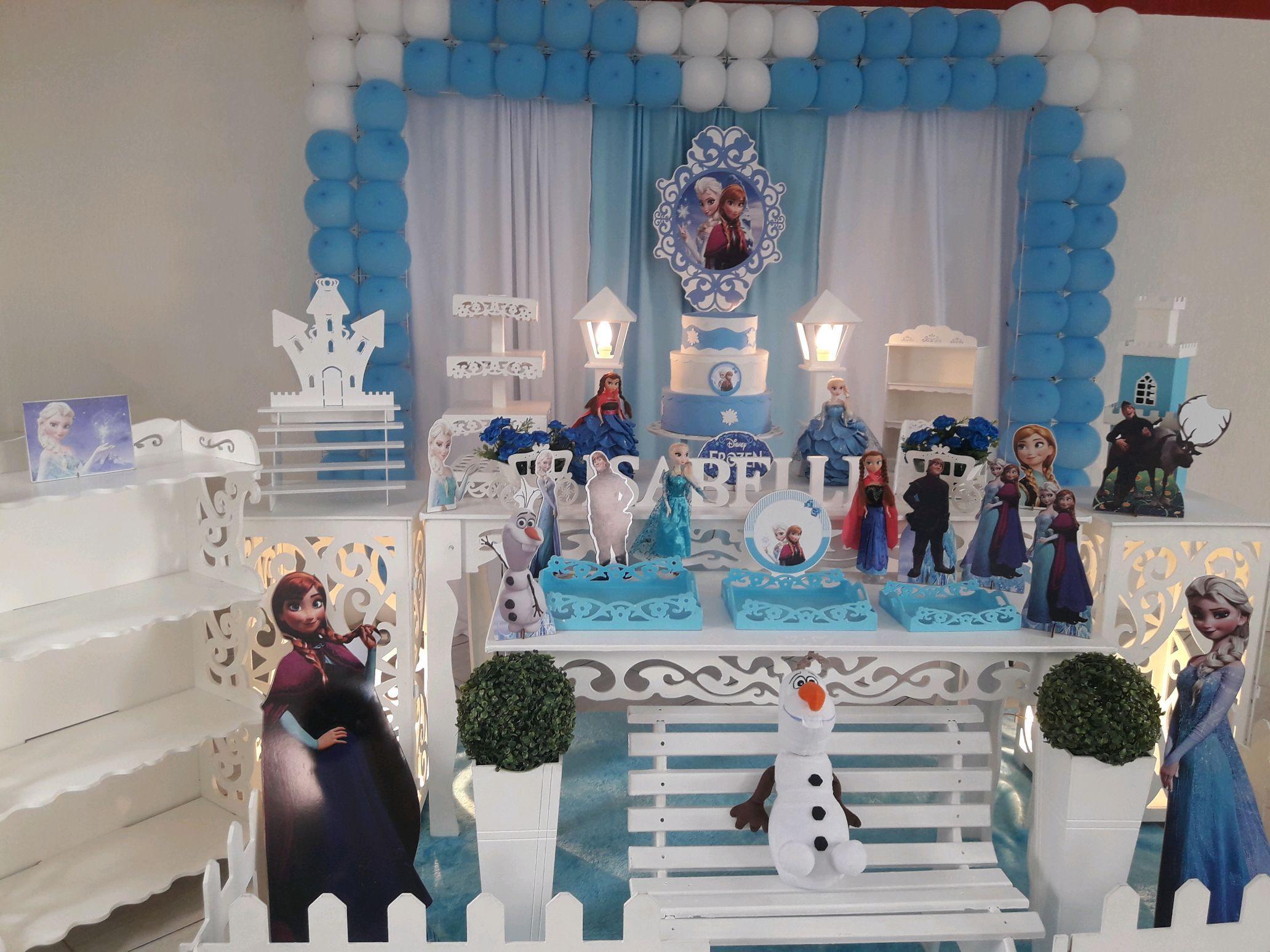Aluguel Decoracao Infantil Frozen Elo7