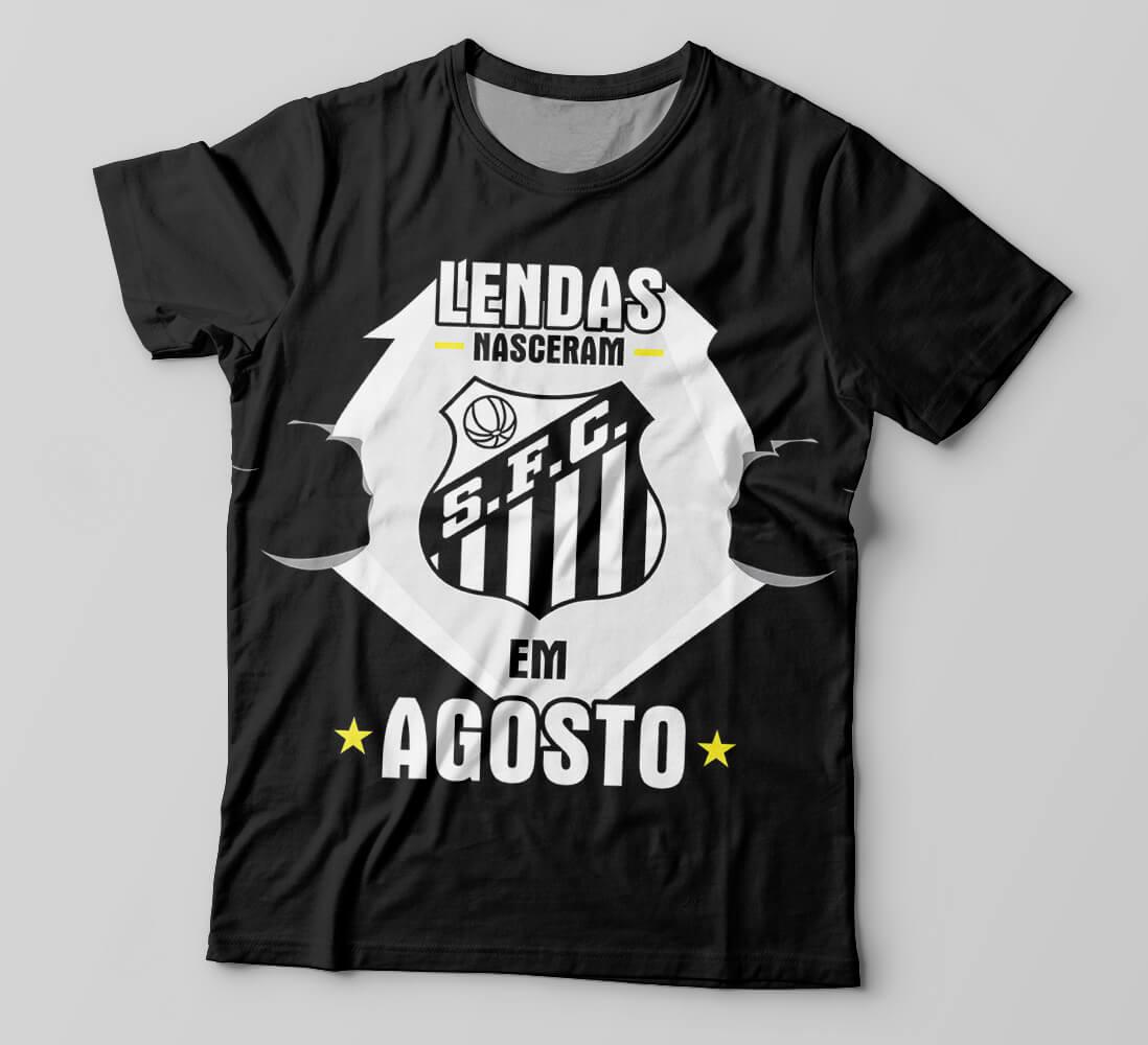 c482ec9118 Camiseta Santos
