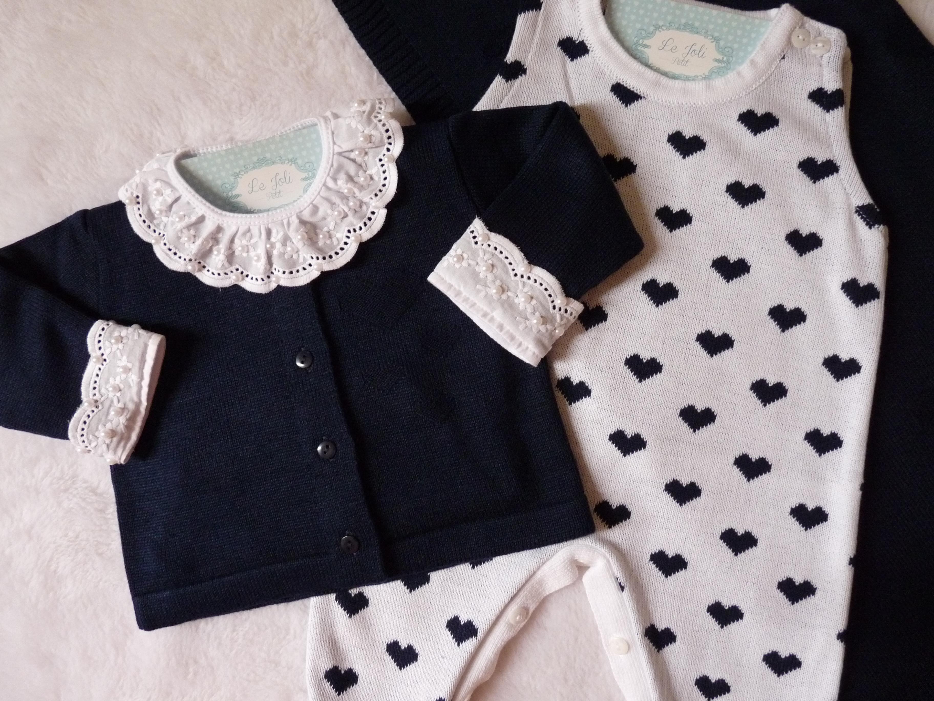 Saida de Maternidade Love Azul e Rosa Bebe  b765a8f2416