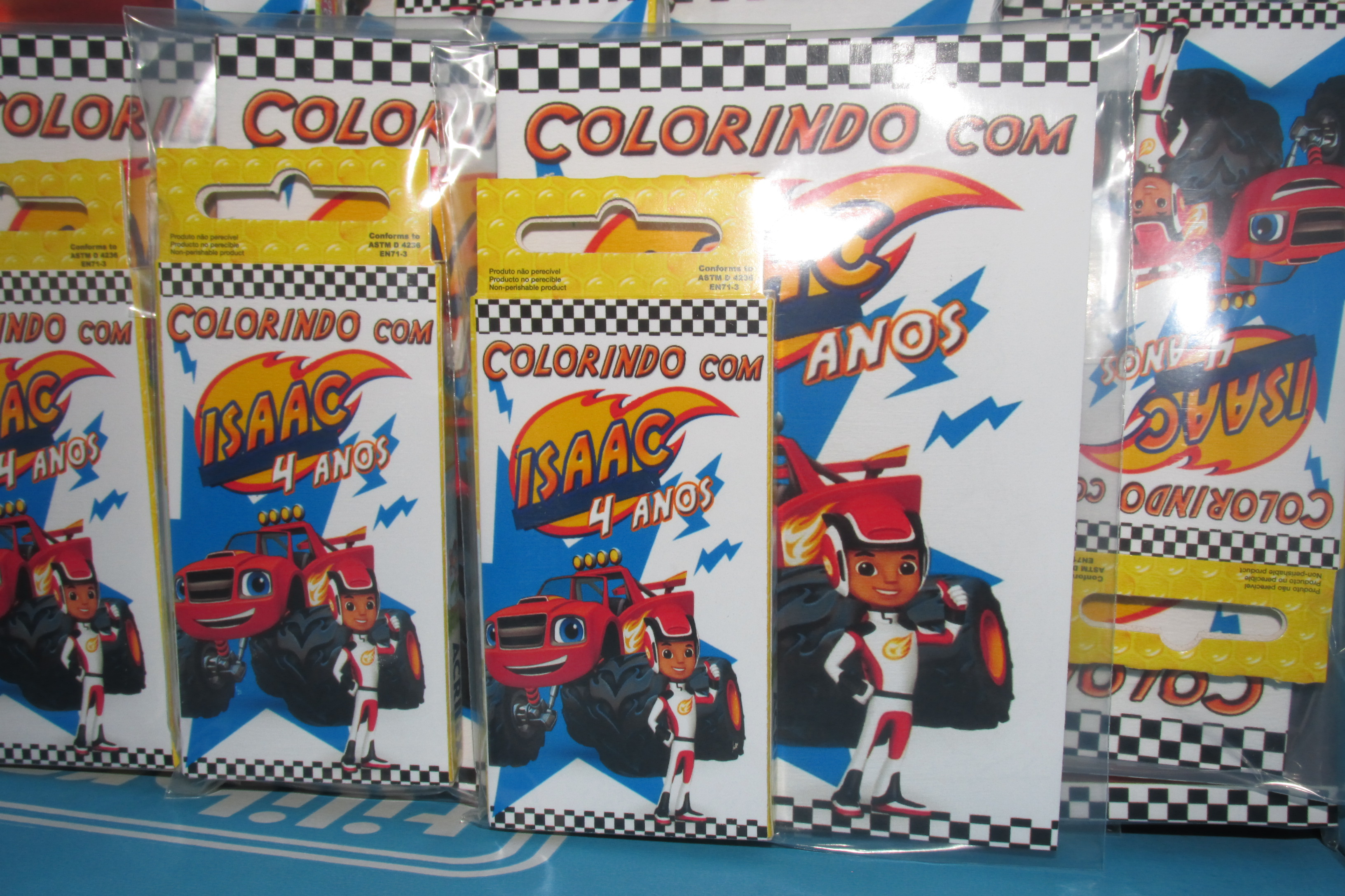 Kits Colorir Blaze Monster Machine 14x10 No Elo7 Tudo De Festa