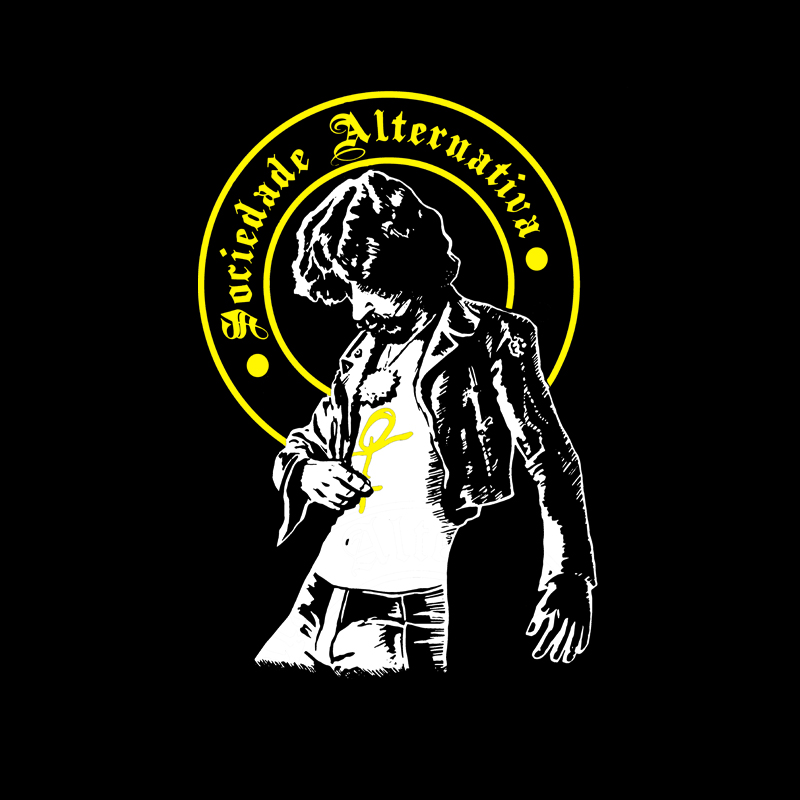 Camiseta Sociedade Alternativa Raul Seixas no Elo7  d0126cfc68e4b