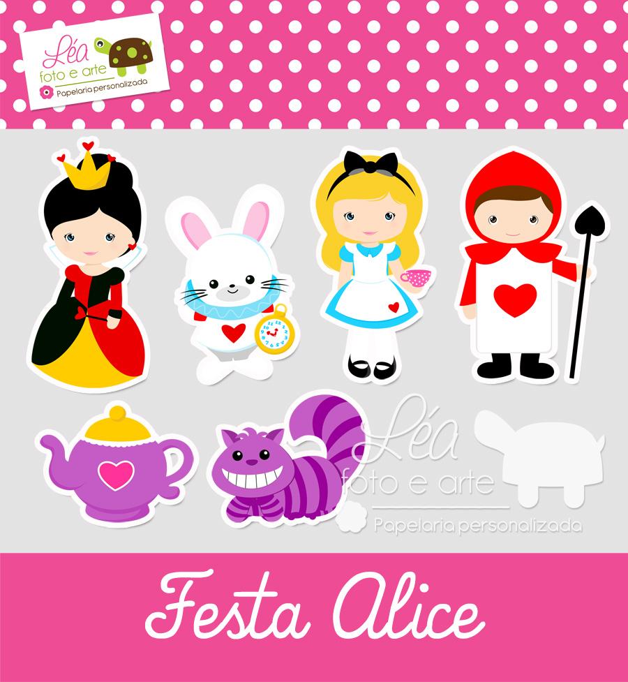 Favoritos Papelaria Festa Alice   Elo7 CS82