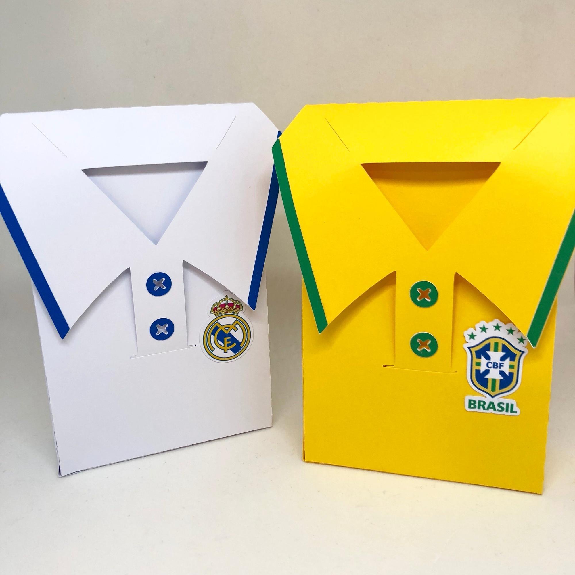 Camisa Futebol de Feltro  3ac34057d5283