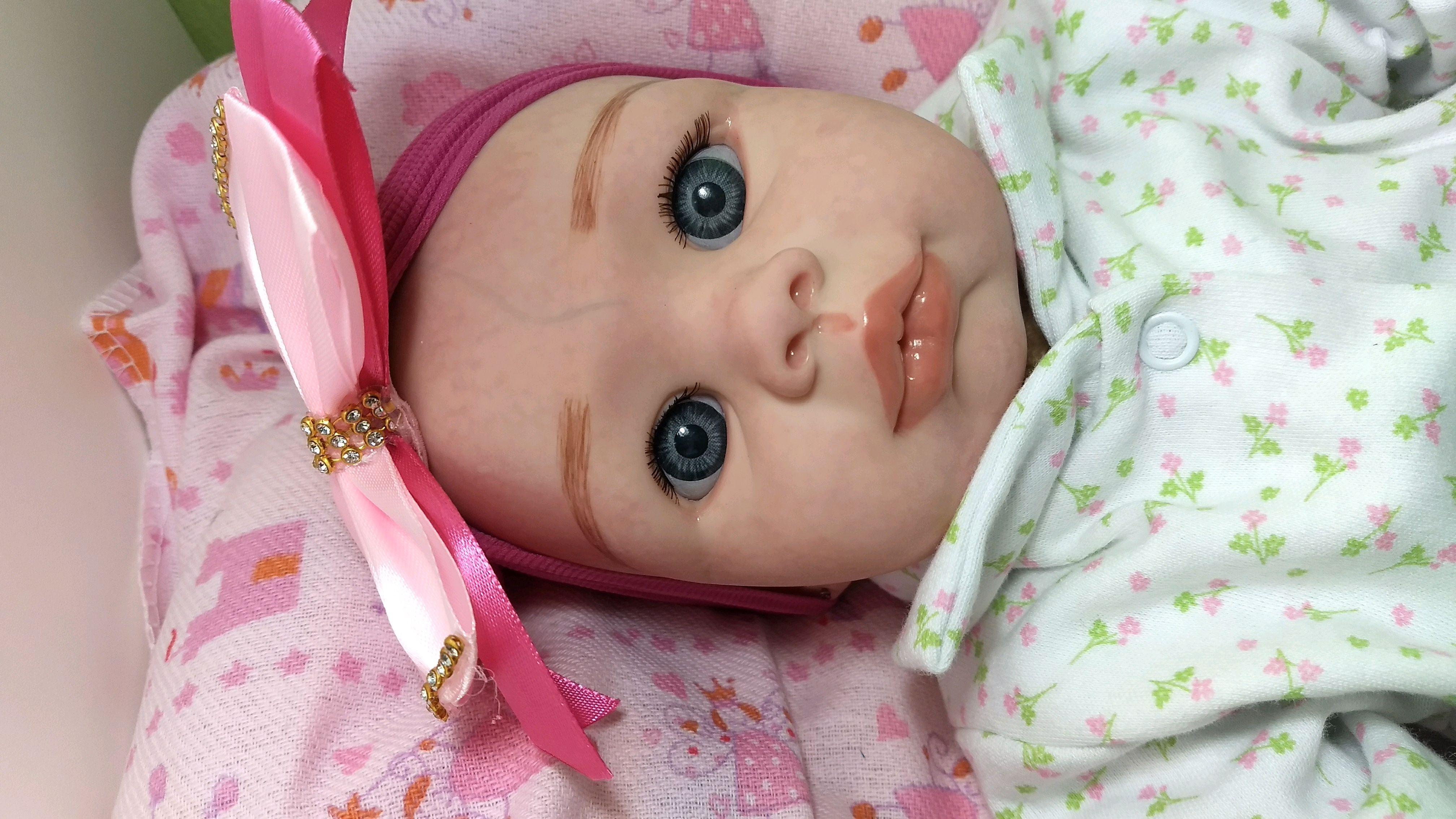 Boneca Bebe Reborn Yasmim  8fbe493be69