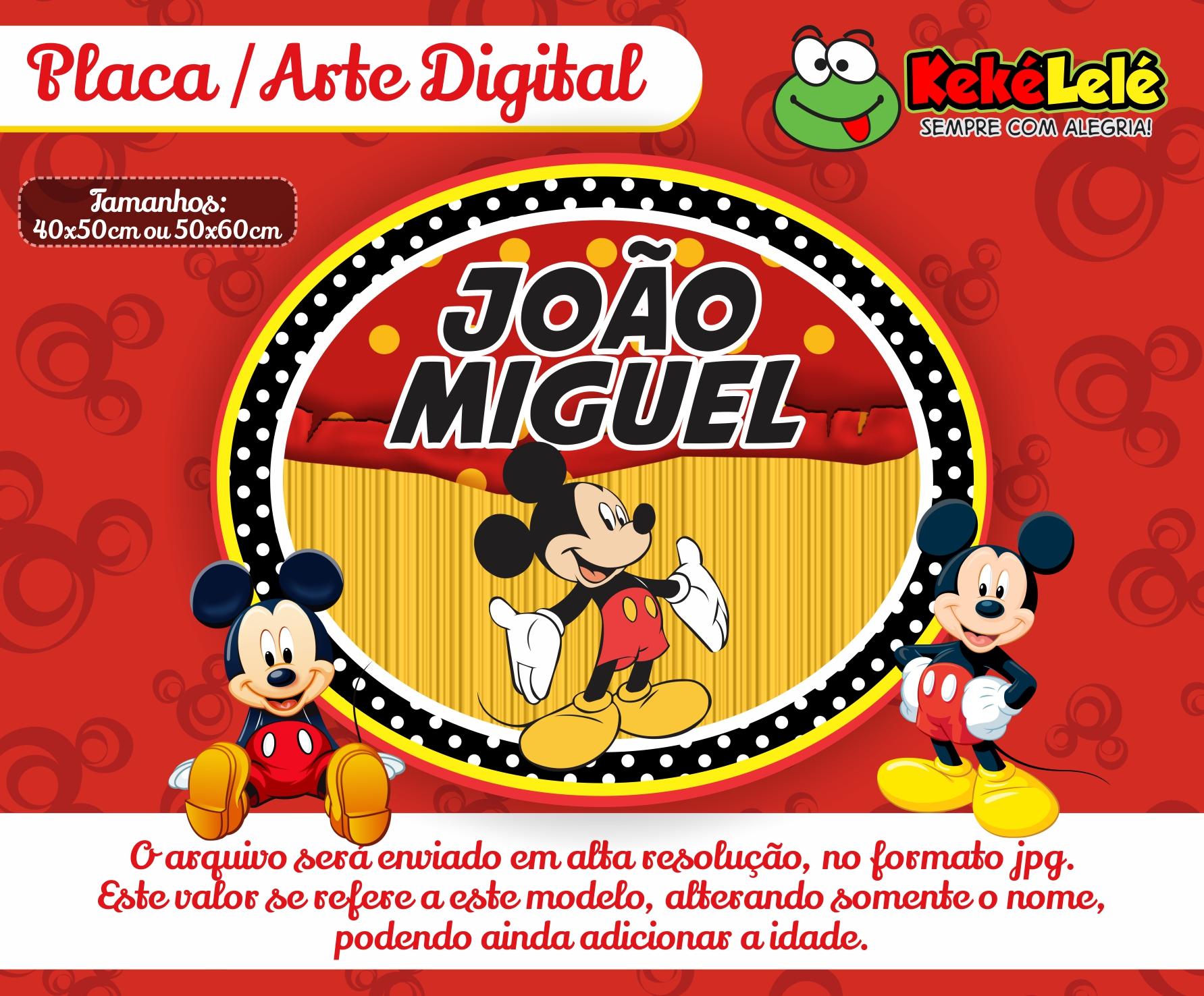 Placa Mickey em CE  f2510ad3c0ff2