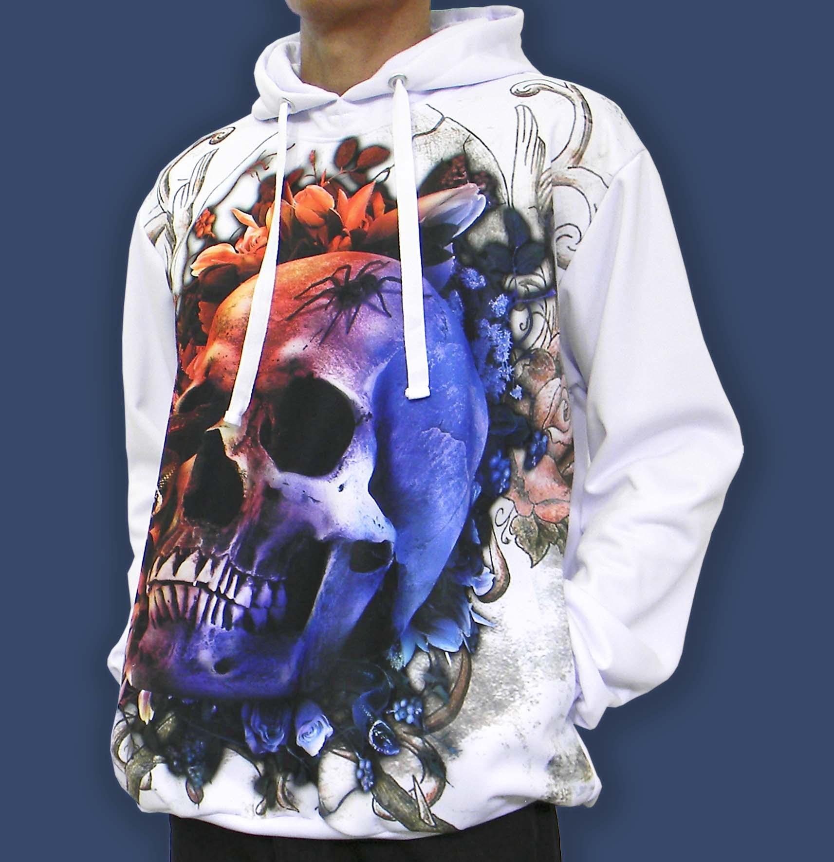 fd100902d7 Blusa De Frio Printfull Skull Moletom Masculino E Feminino no Elo7 |  Printfull (B8D884)