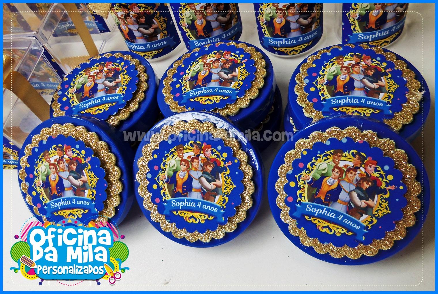 ... Mochila Princesas Disney e Príncipe