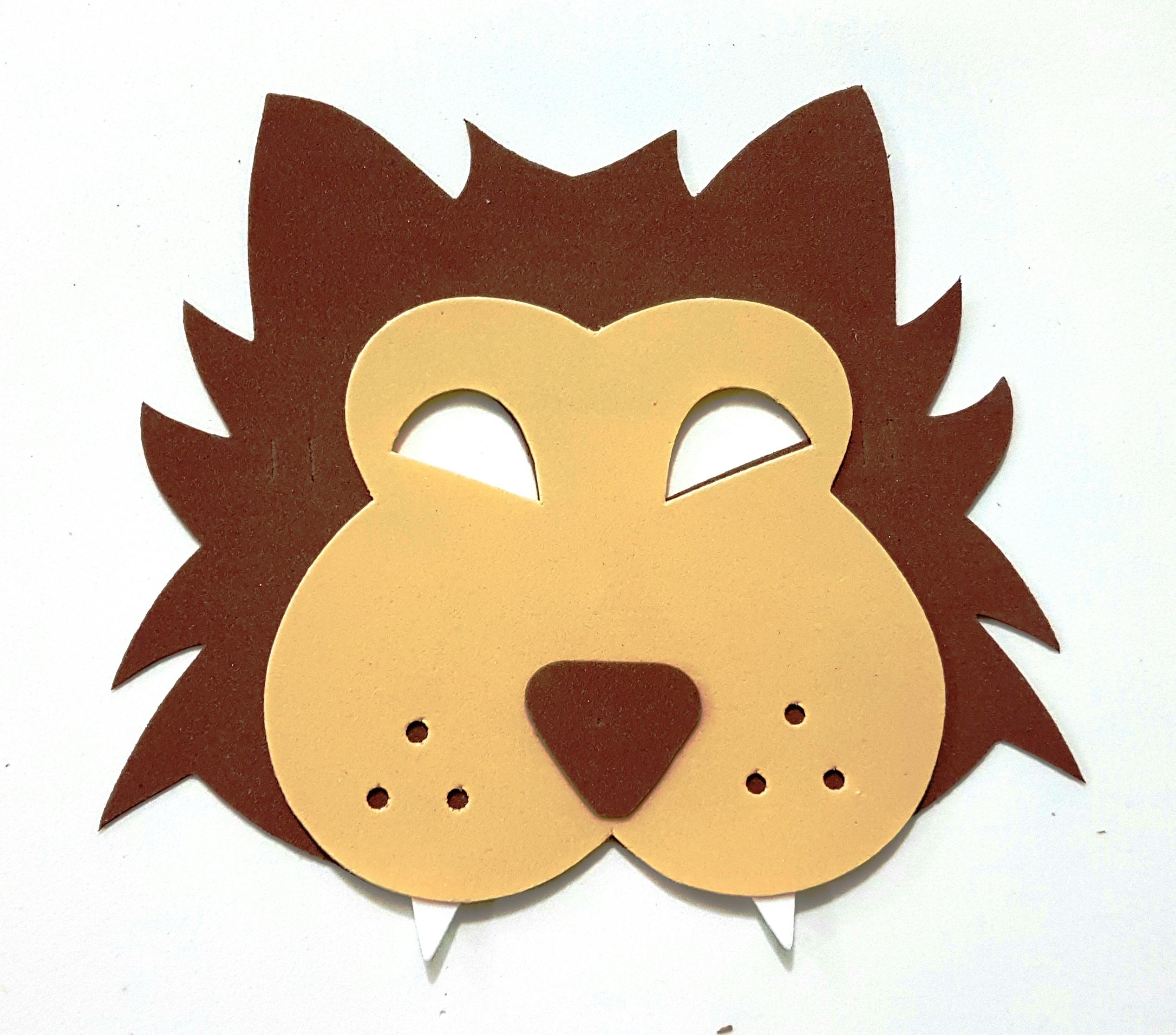 460a93e3e67 Mascara de Lobo