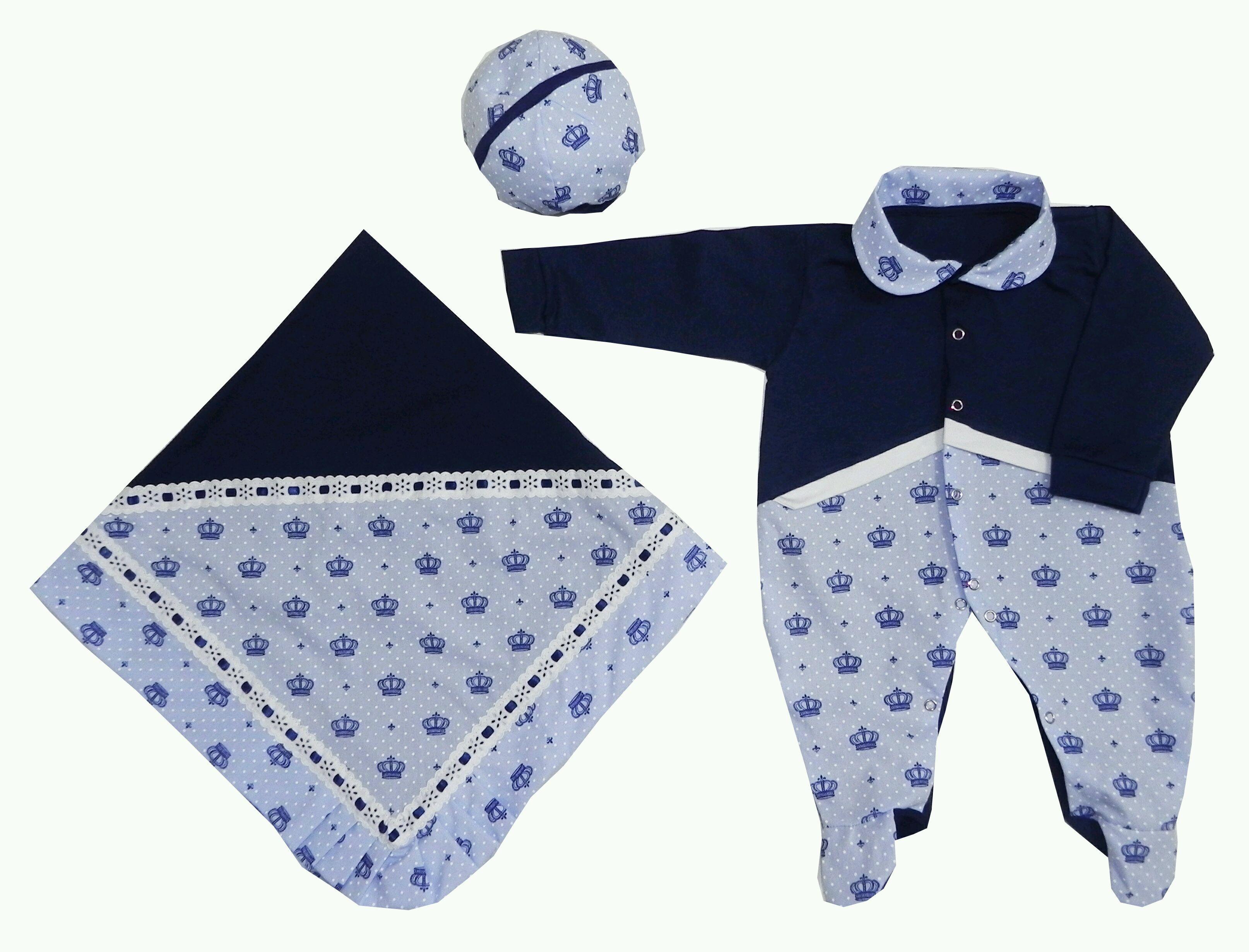 Saida Maternidade Azul Marinho  92036eae897
