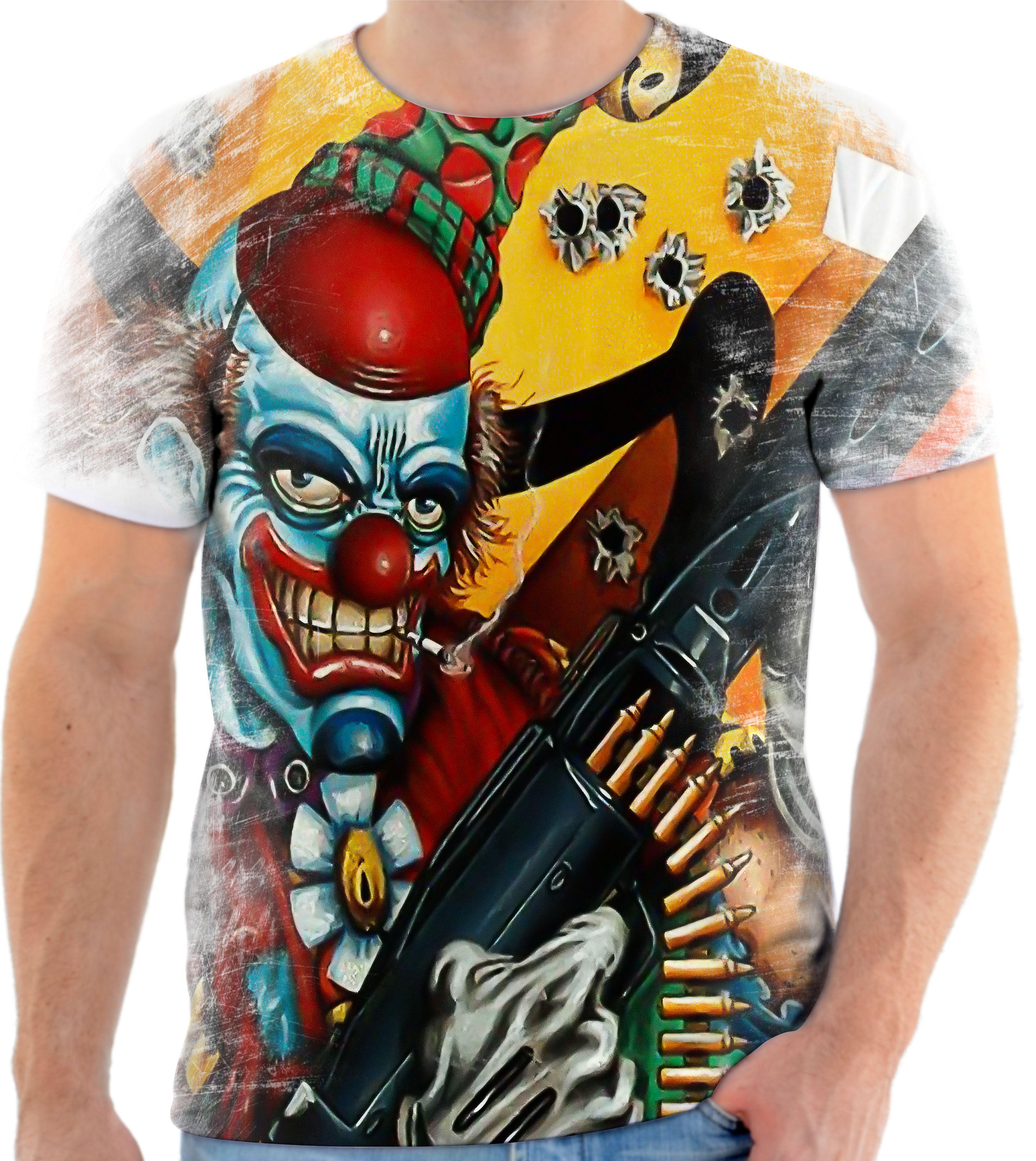 Camisa Camiseta Personaliza Palhaco Assassino 2 No Elo7 Estilo