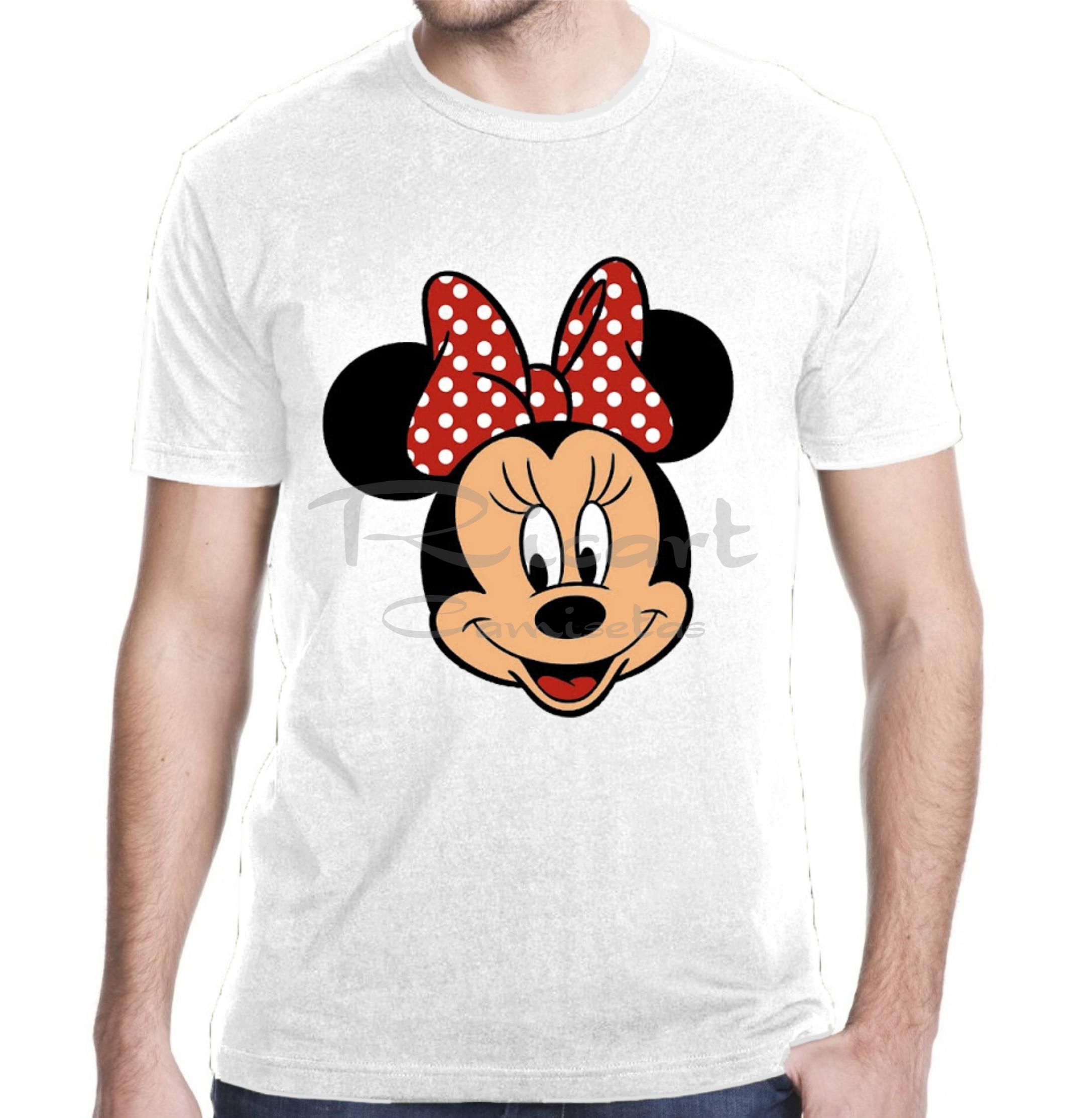 Camiseta Minnie Mouse Personagem Disney Mod 01 No Elo7 Ricart