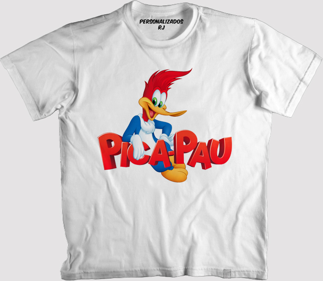Camisa Familia Pica Pau  74dd55edc407b