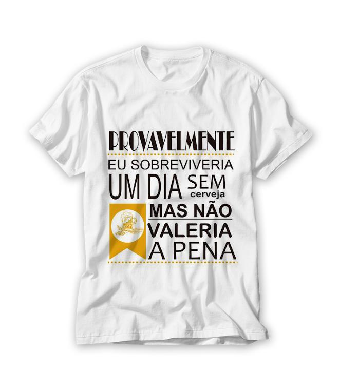 5025baf7a3 Porta Cerveja Camiseta
