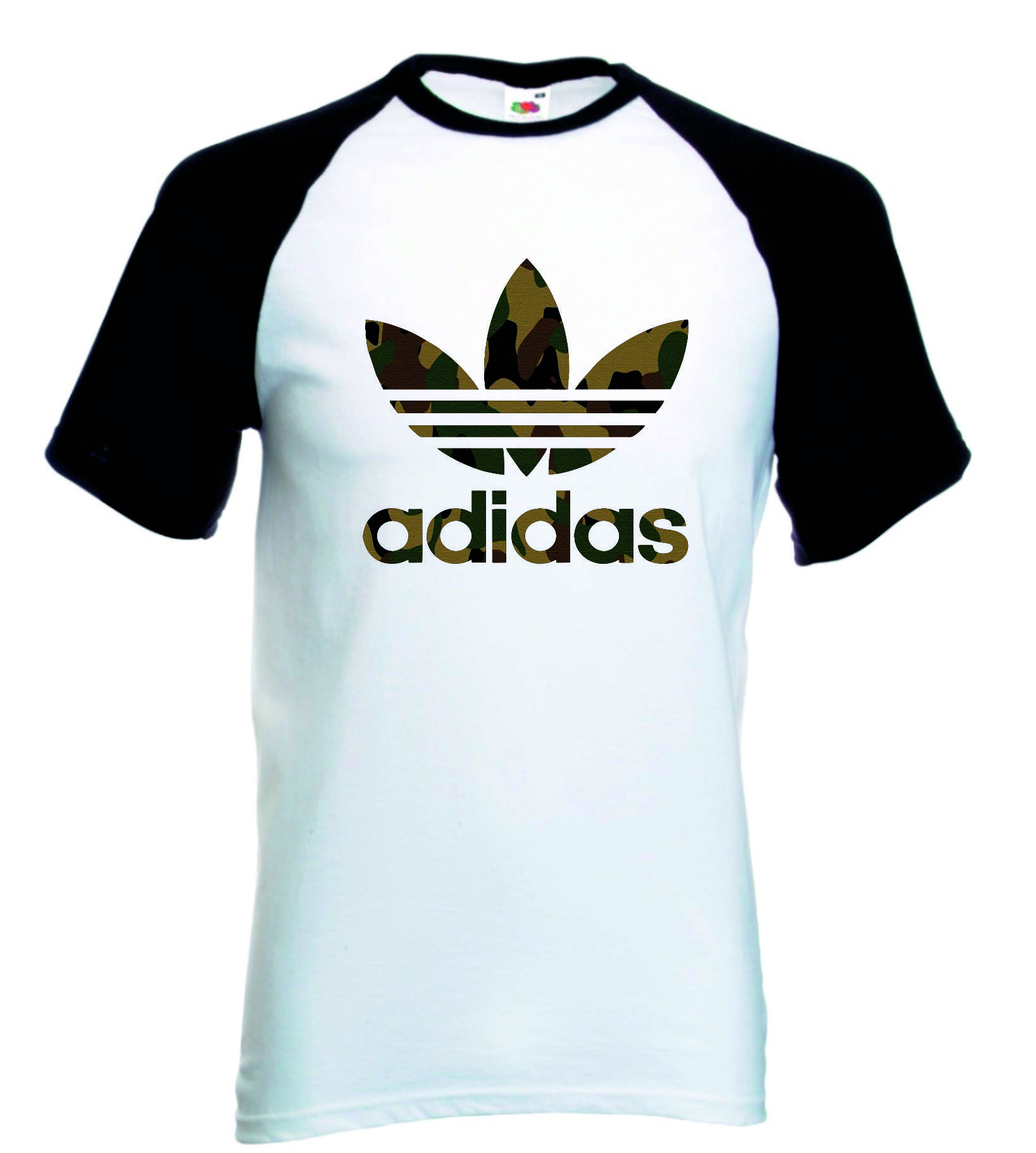 dbb2fbc2dd1 Camiseta Raglan Adidas no Elo7