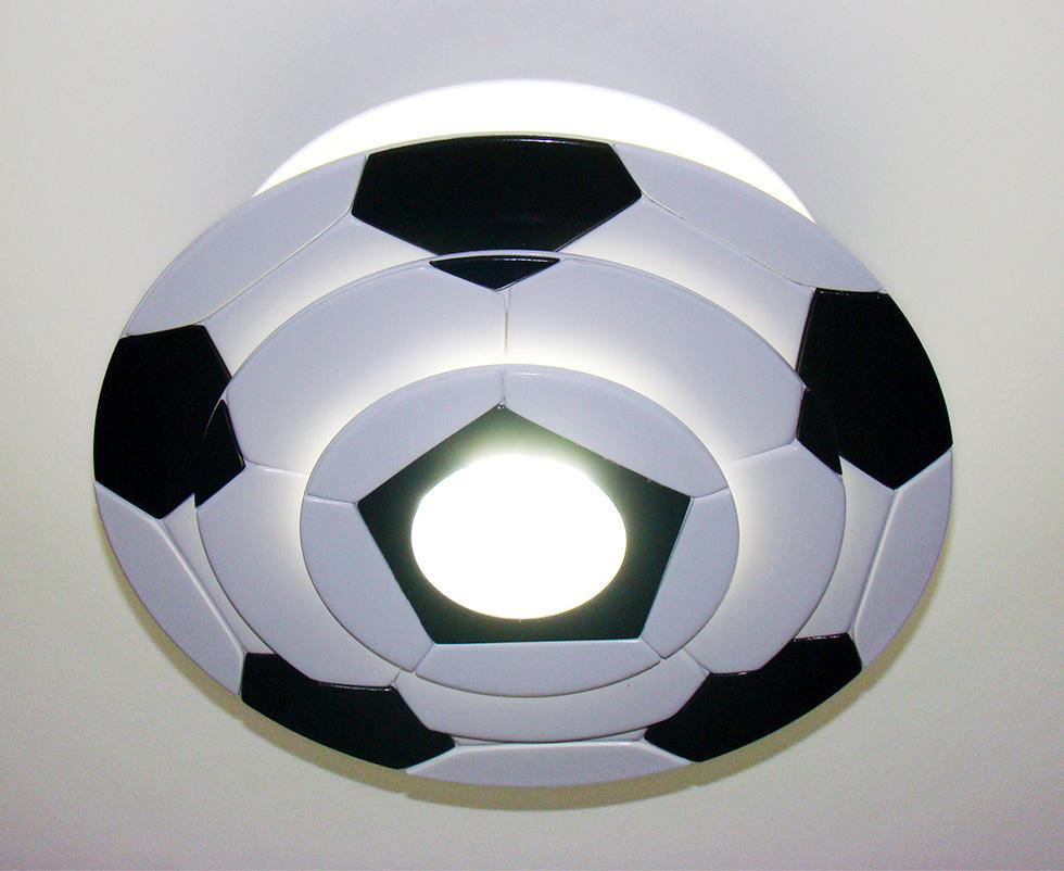 2d2b0fa13 Luminaria Lustre bola de futebol Para Decoração infantil no Elo7 ...