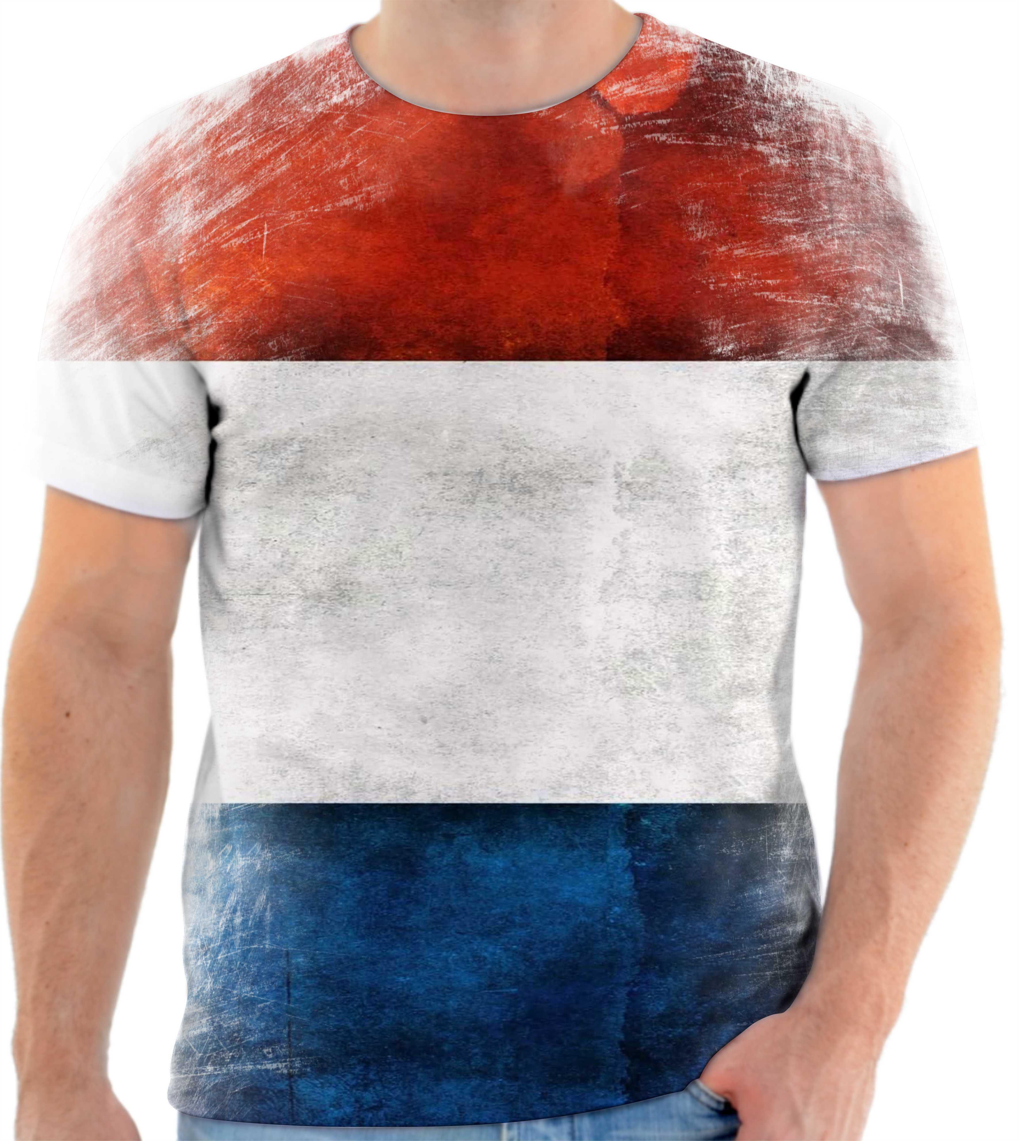 Camisa Camiseta Personalizada Bandeira da Franca 2  89938abf45636
