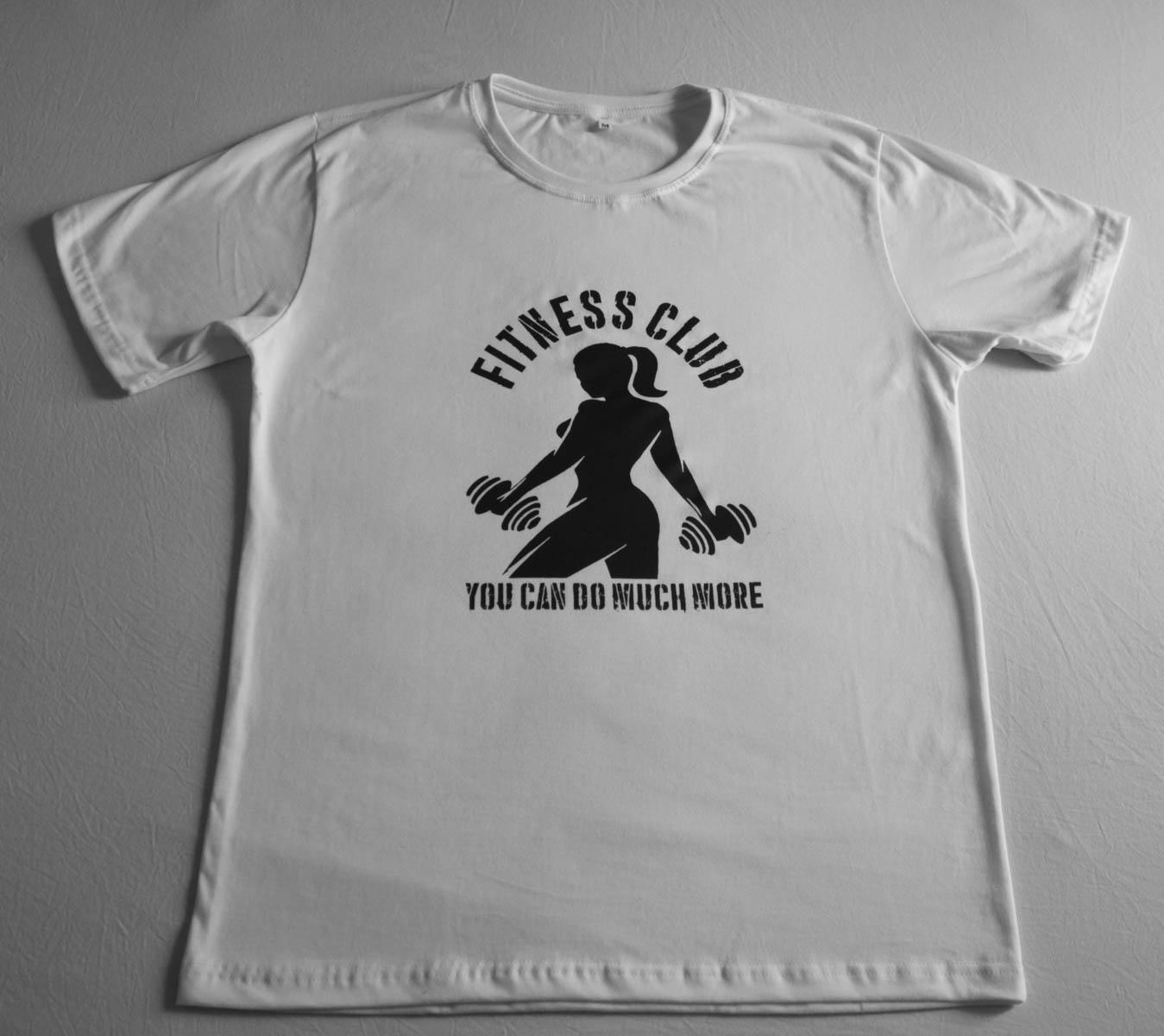 027ef6c9c8cd7 Camiseta Estampada Fitness Club no Elo7
