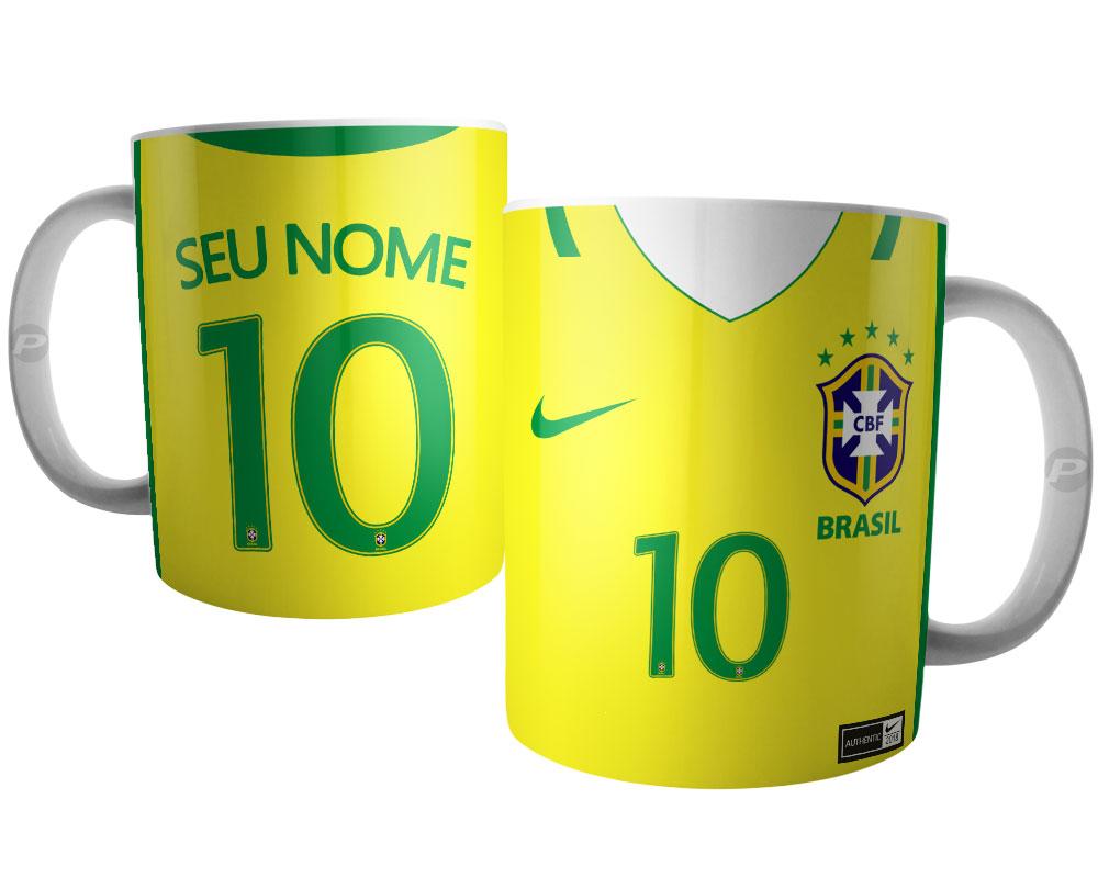 405d9430f0 Camisa Brasil 2017