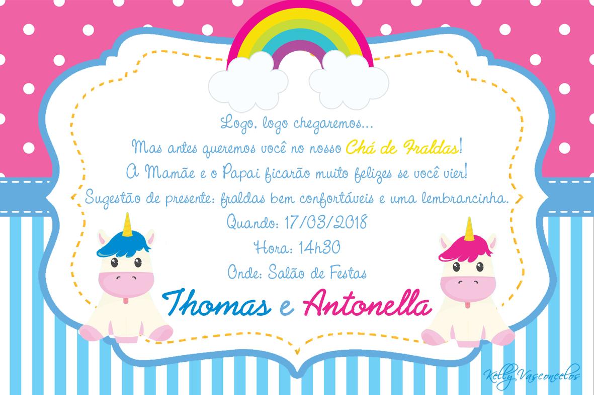 Mensagem De Convite De Cha De Fralda: Frases Para Convite De Cha De Fraldas