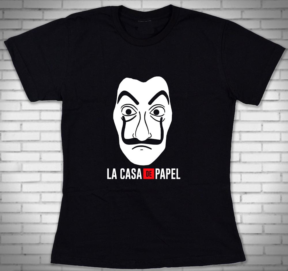 Camiseta Feminina Netflix Preta  cbd191b54d958