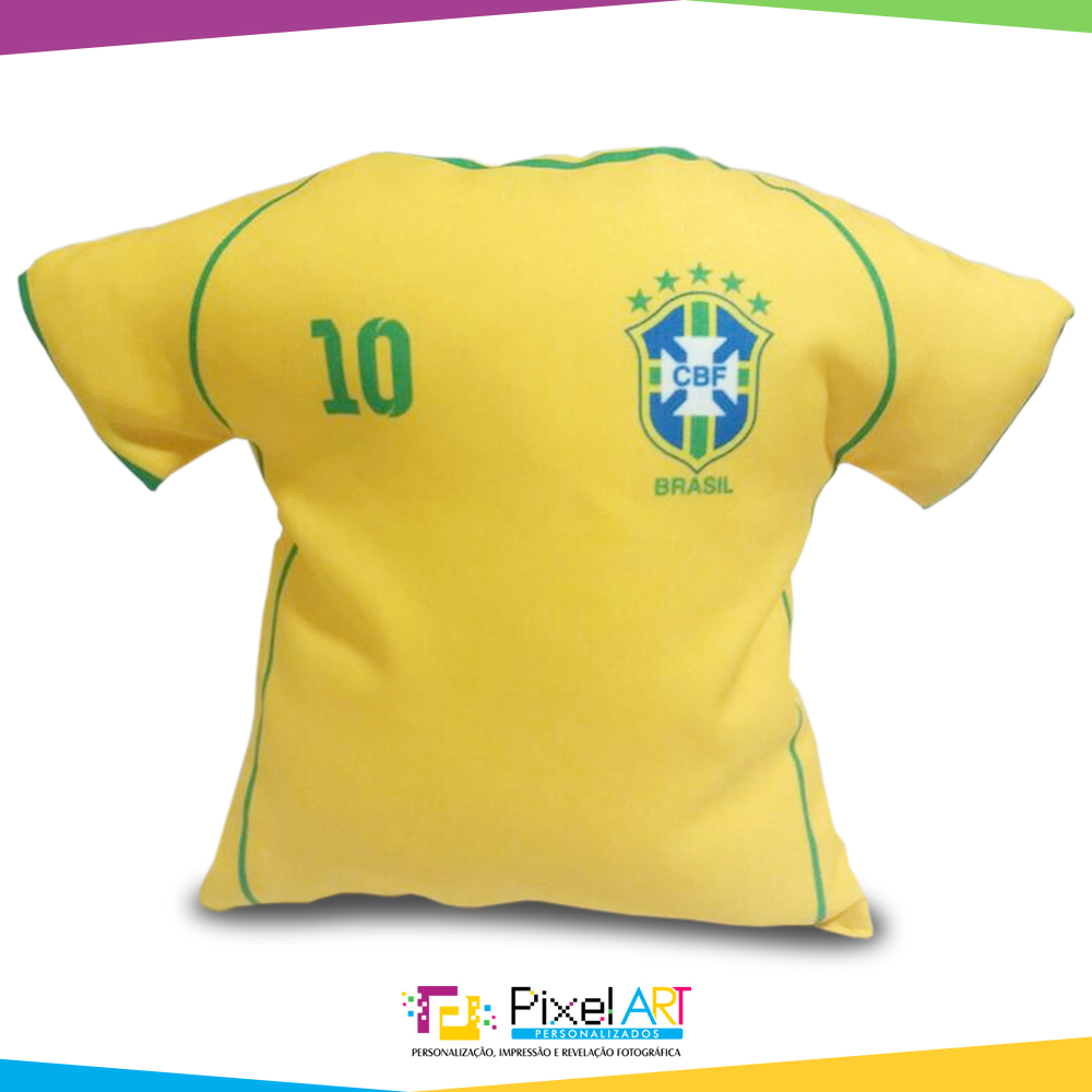 65271e8044 Camisa Azul Selecao Brasileira 2018 Copa do Mundo