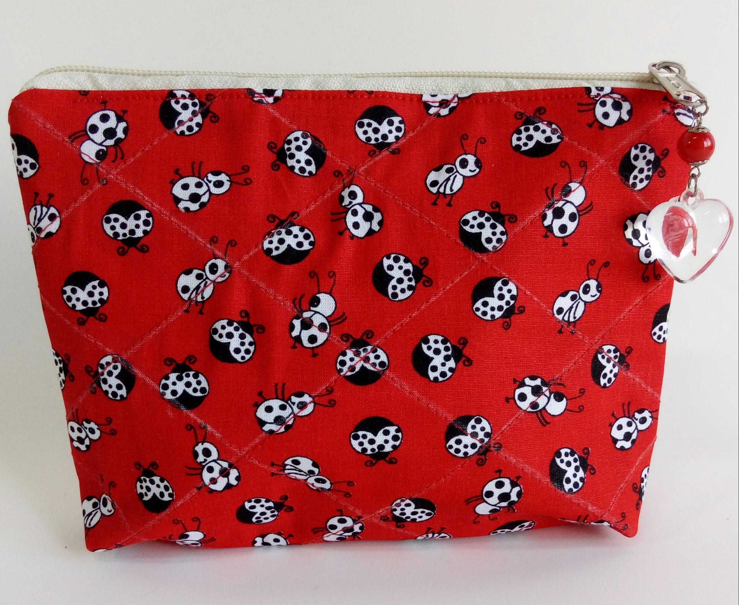 Conhecido Necessaire feminina tecido artesanal no Elo7 | Estili (BABEF2) WX57