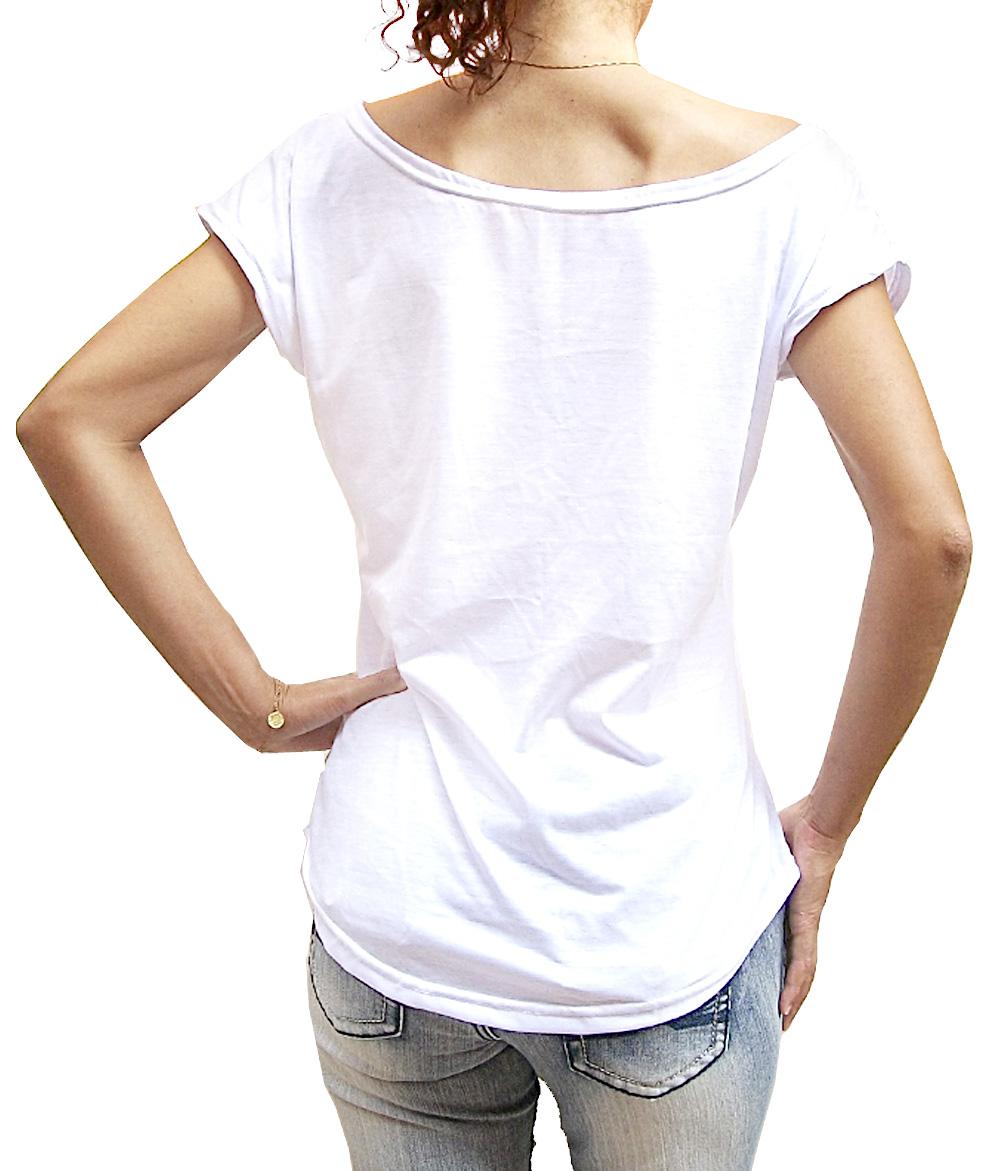 c68baec66 Camiseta feminina gola canoa Gospel Evangélica no Elo7