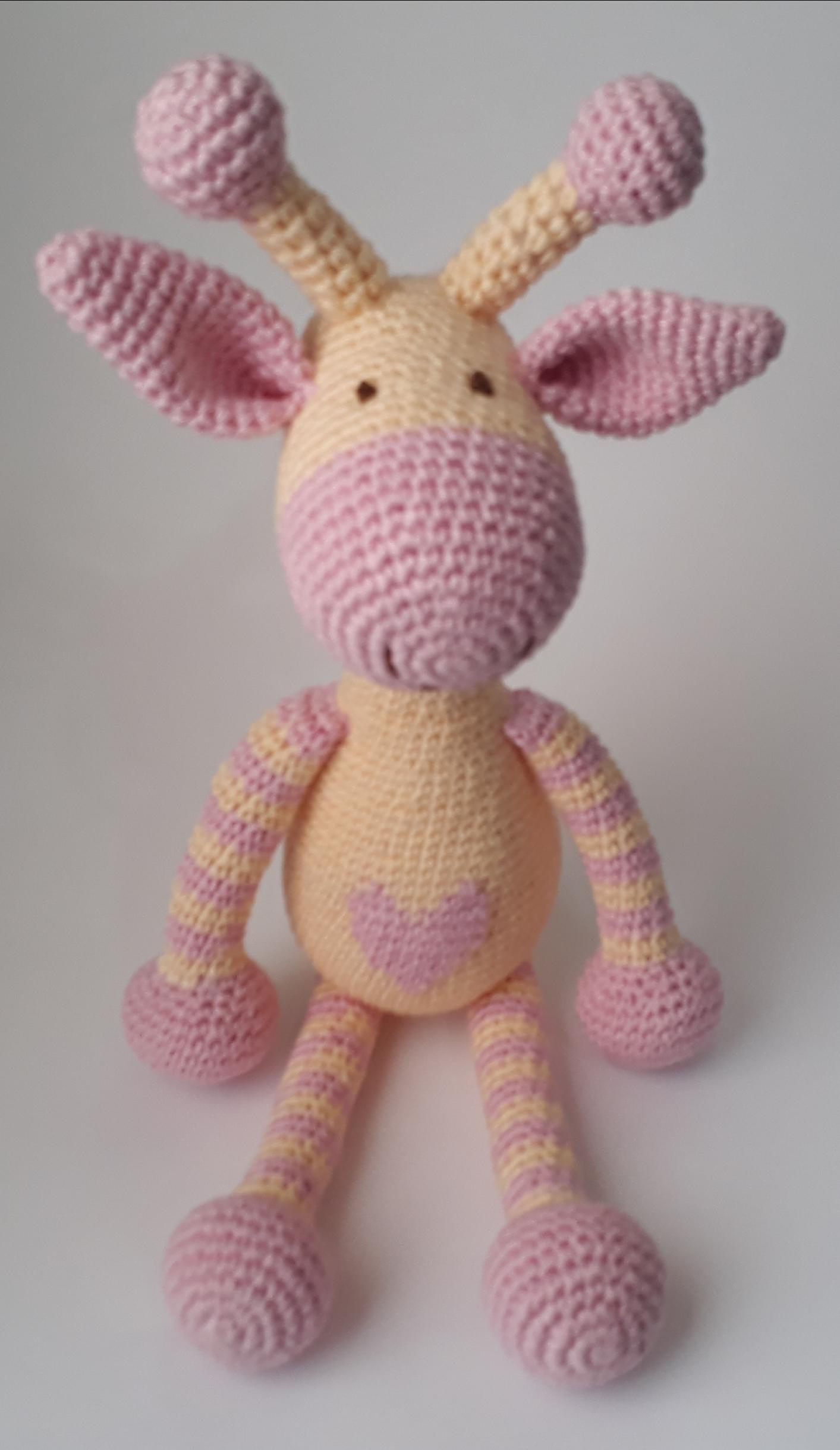 Amigurumi Girafa Gigi Big   Bichinhos de croche, Amigurumi de ...   2438x1413