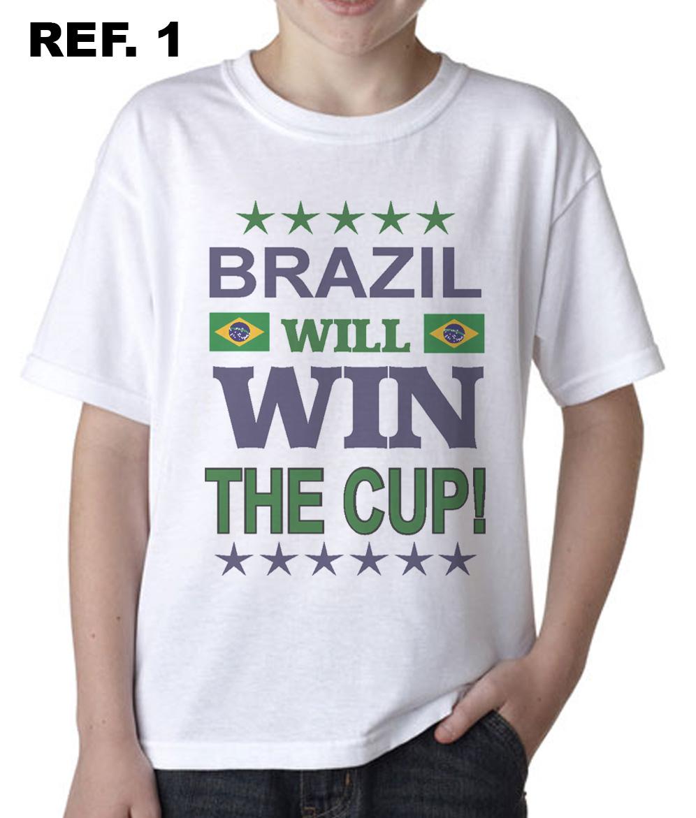 8d2d4cea0d Camisetas Infantil do Brasil