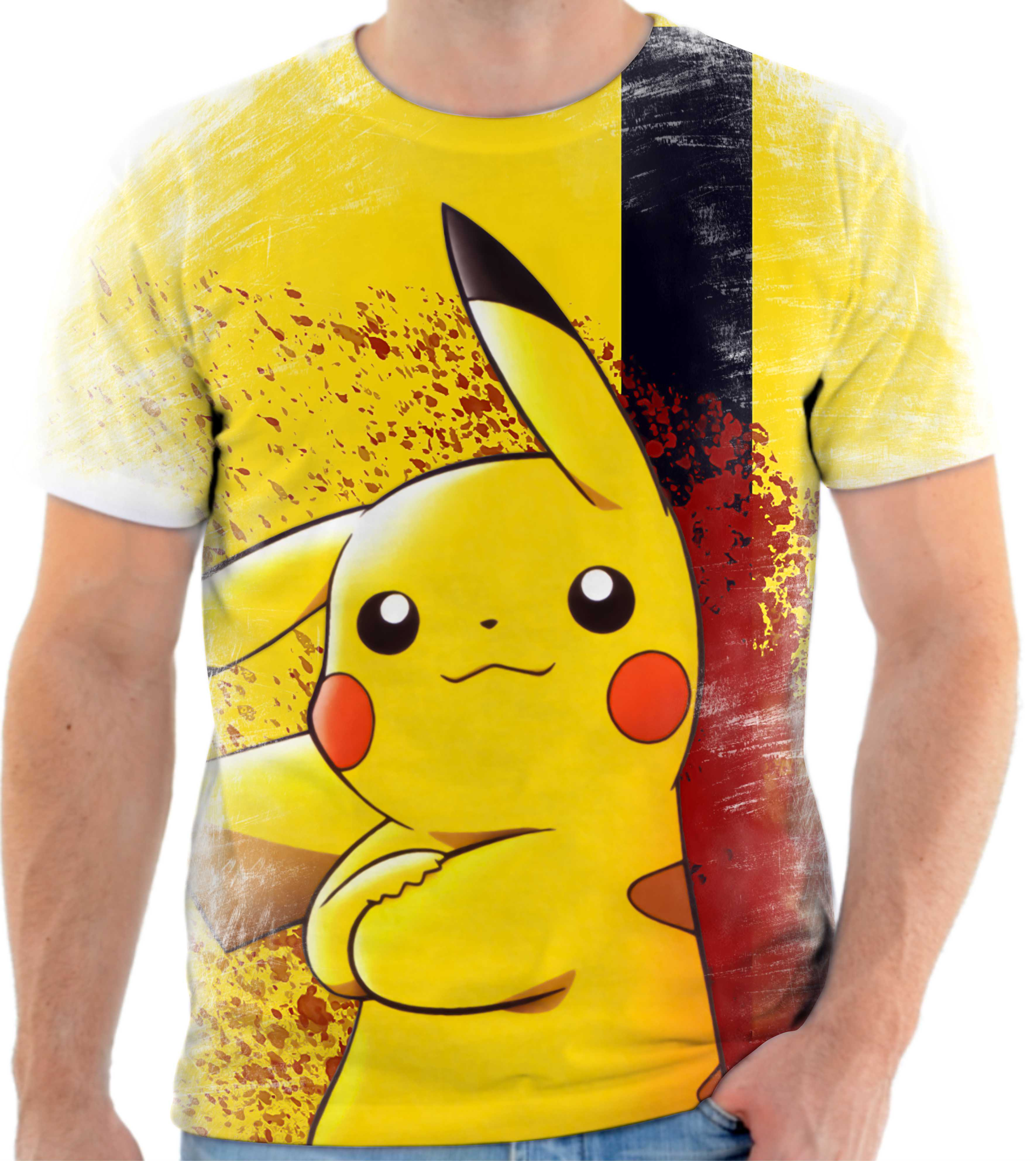 162aa68ea Camisa Camiseta Blusa Personalizada Pokemon Bulbasaur Anime