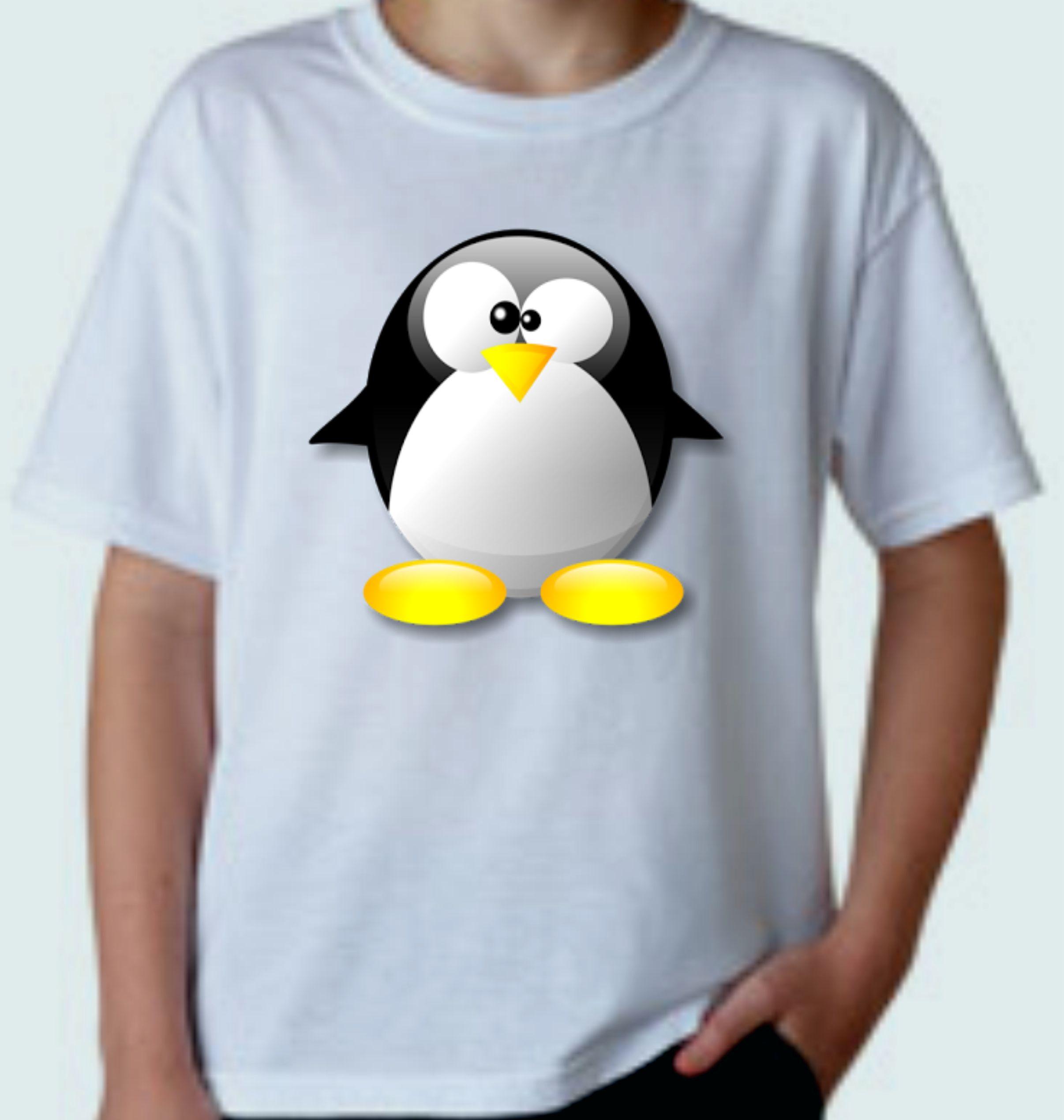 bbc6c44a6 Camiseta Personalizada Pinguim Antárctica
