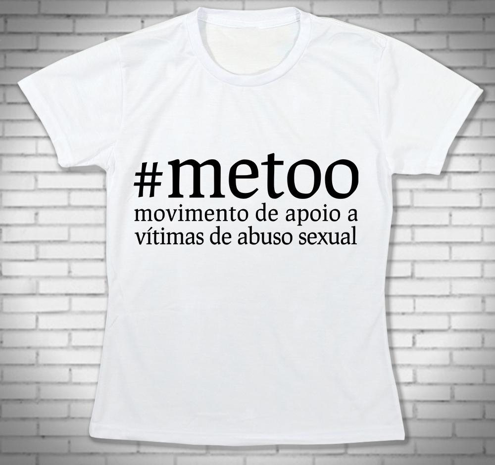 360740d6b9661 Camiseta com Frases Feminista