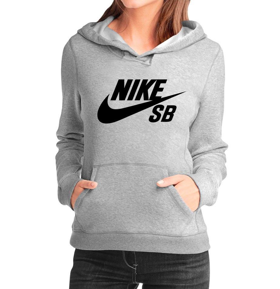 2ce7f187cc Moletom Nike Sb Feminino Casaco Canguru Blusa Frio Moleton