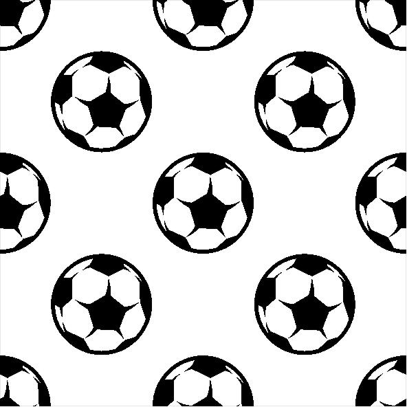 Papel de Parede Teen Bolas de Futebol no Elo7  efdd8ab7af6bc