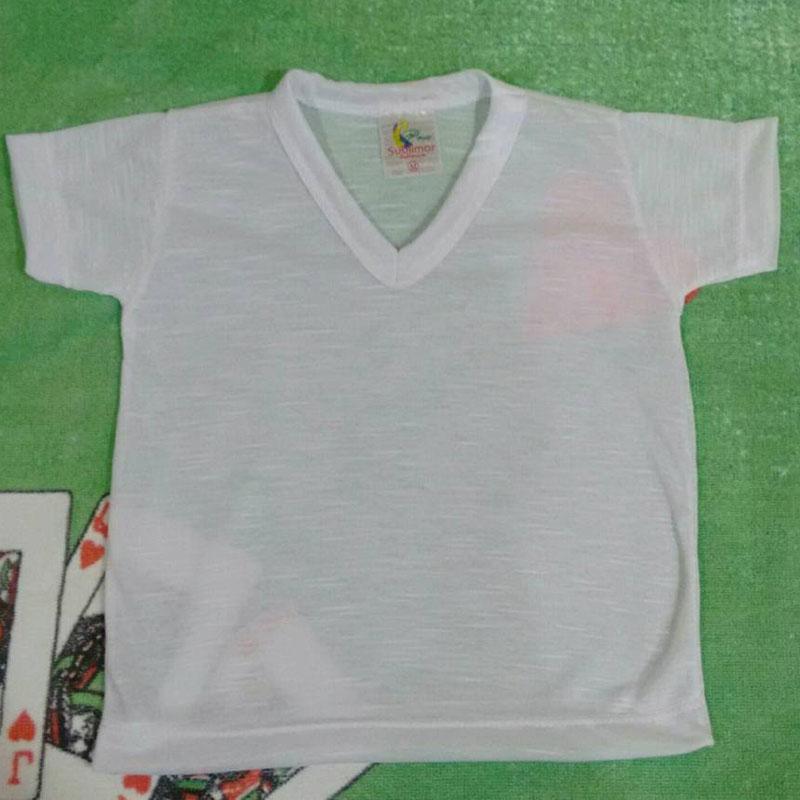 18e061e00 Camisa para Bebê Gola V Personalizada no Elo7