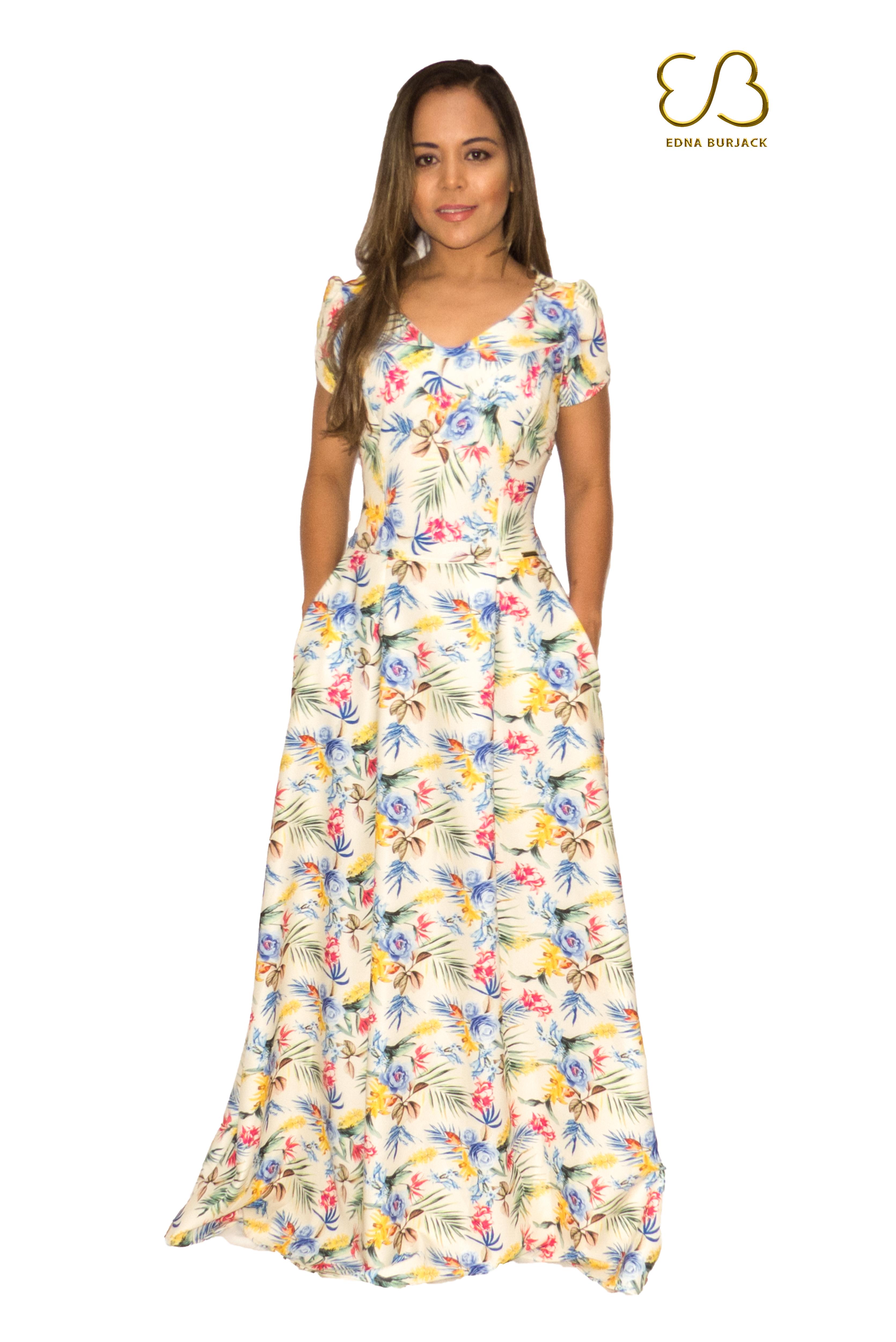 0522c1494 vestido festa - Coleção de Edna Burjack (@EdnaBurjack) | Elo7