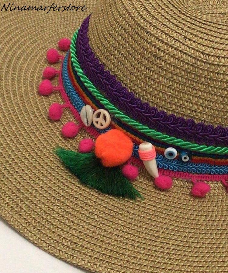 7b8c956394358 Chapéu de Palha Feminino Marrom