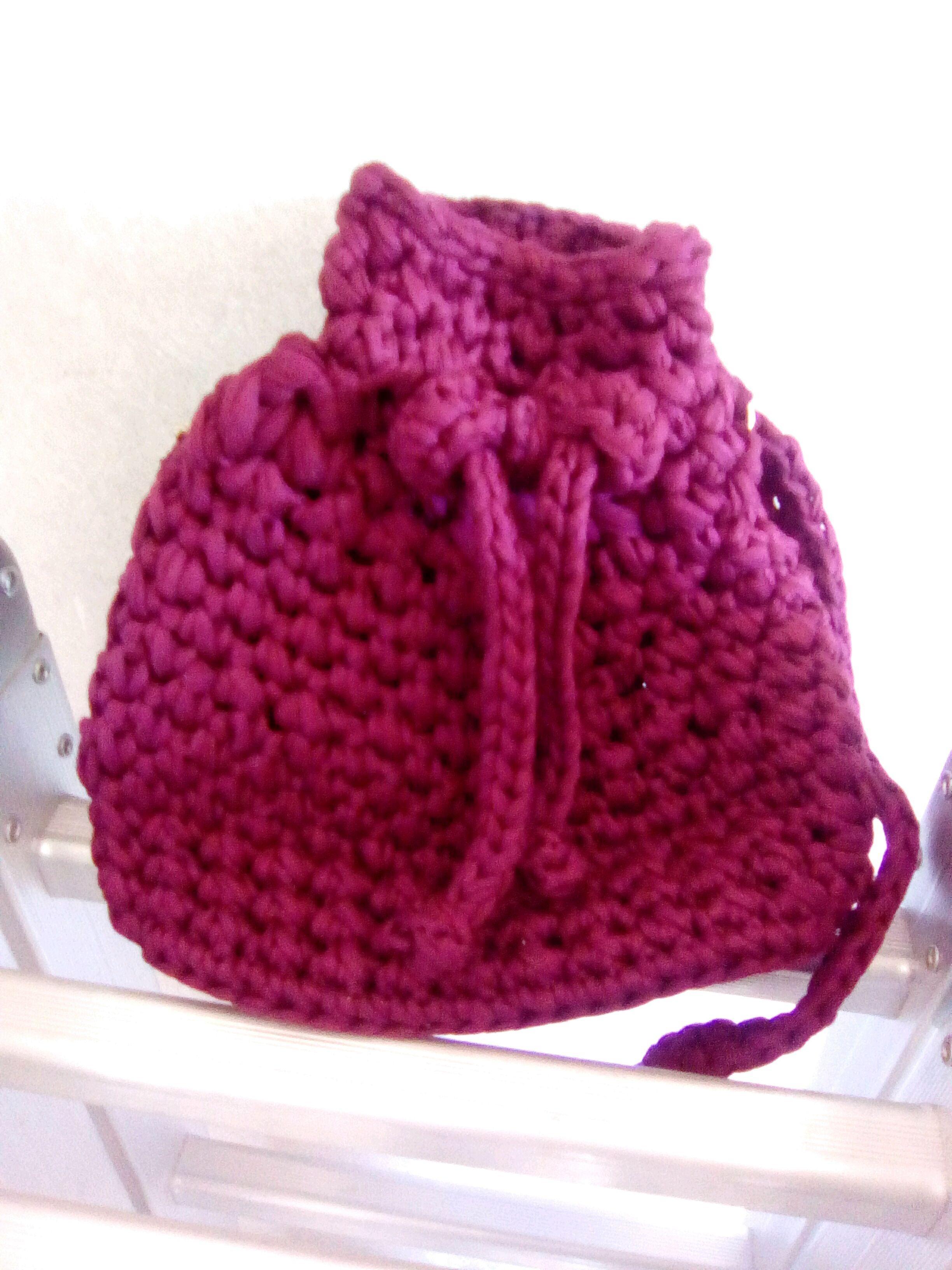 435f62767 Porta Saco Croche | Elo7