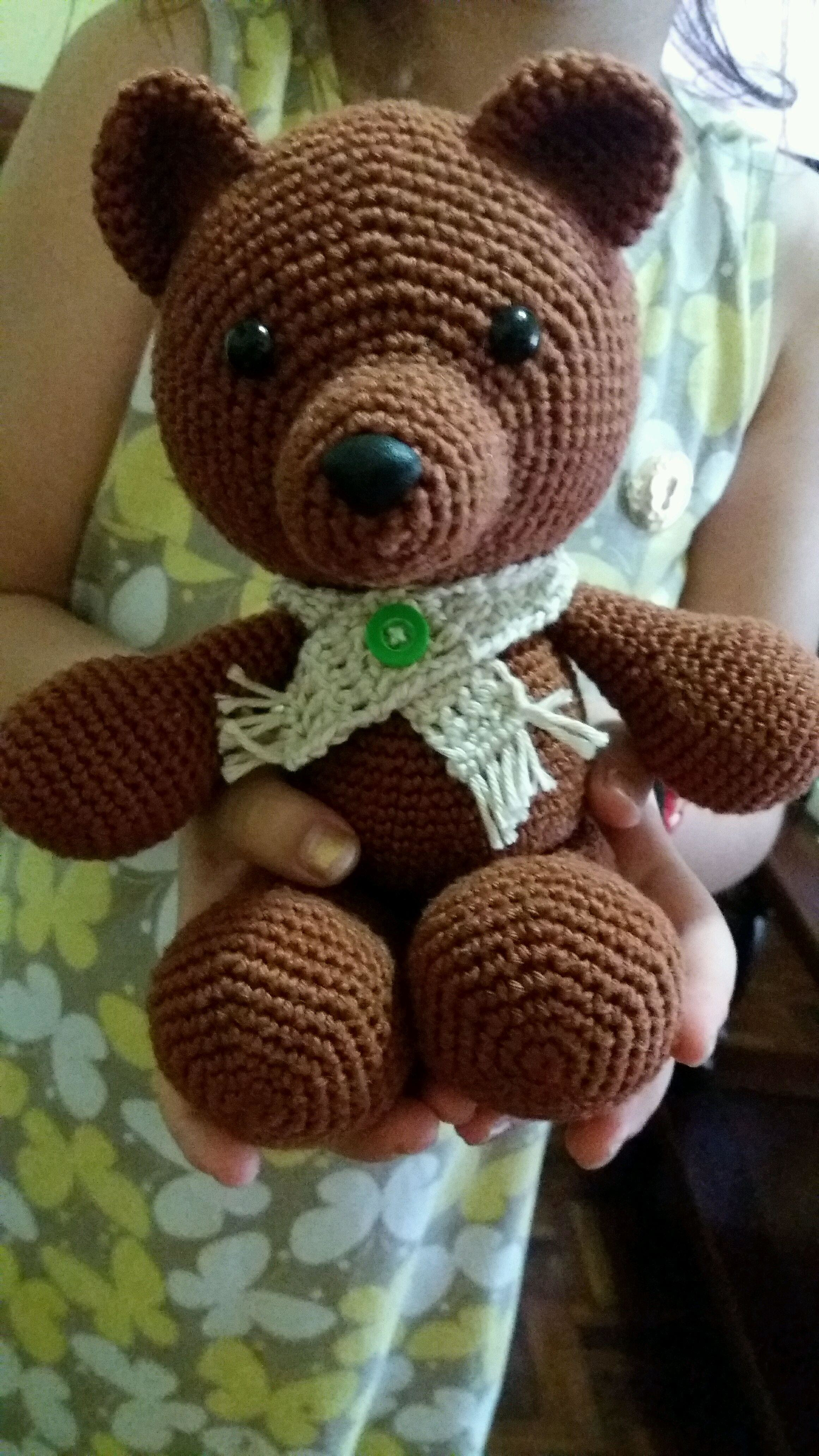 Pedido Juliana (girafa nome Dante) | Modelo de urso de crochê ... | 4128x2322