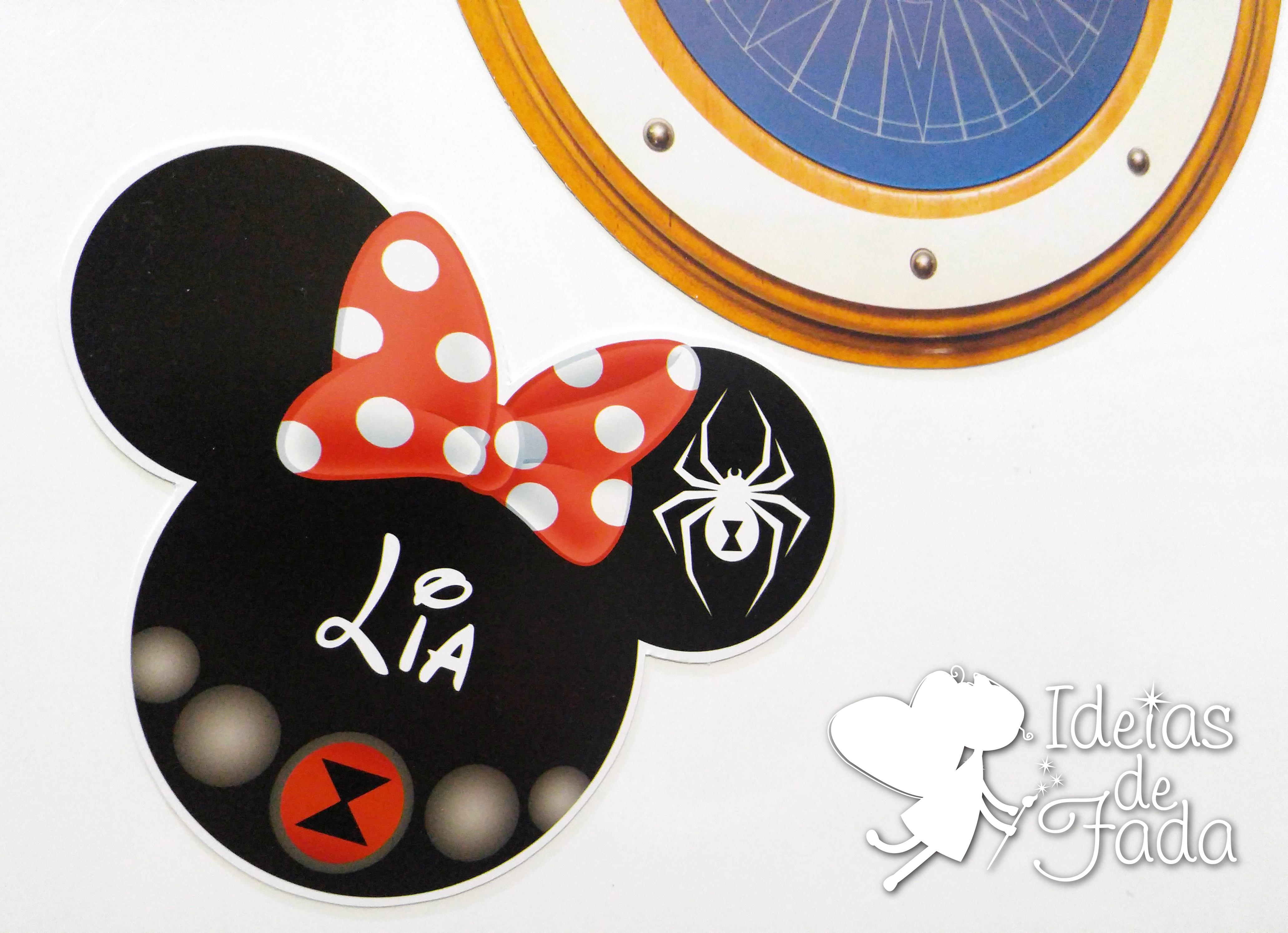 4743f4a87f Imã Porta Cabine da Disney