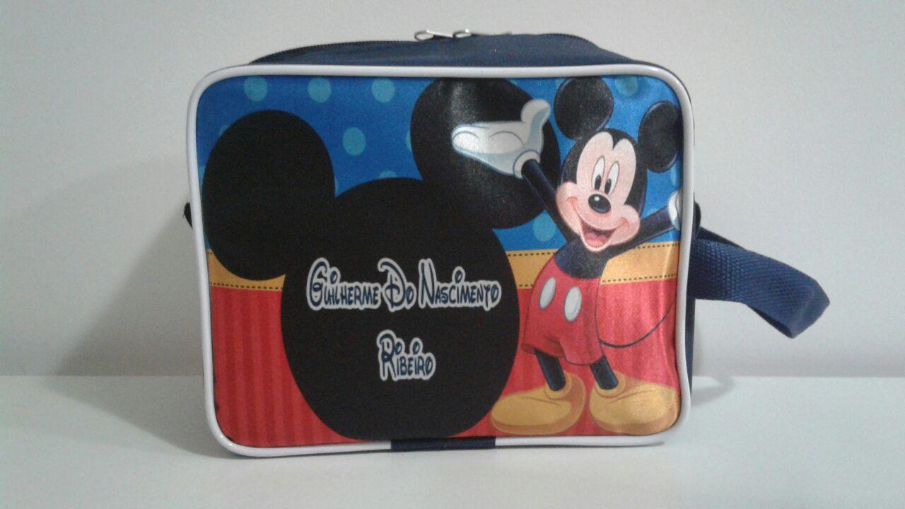 necessaire  bolsinha  maletinha porta chuteira minnie mikey no Elo7 ... 903d69864830a