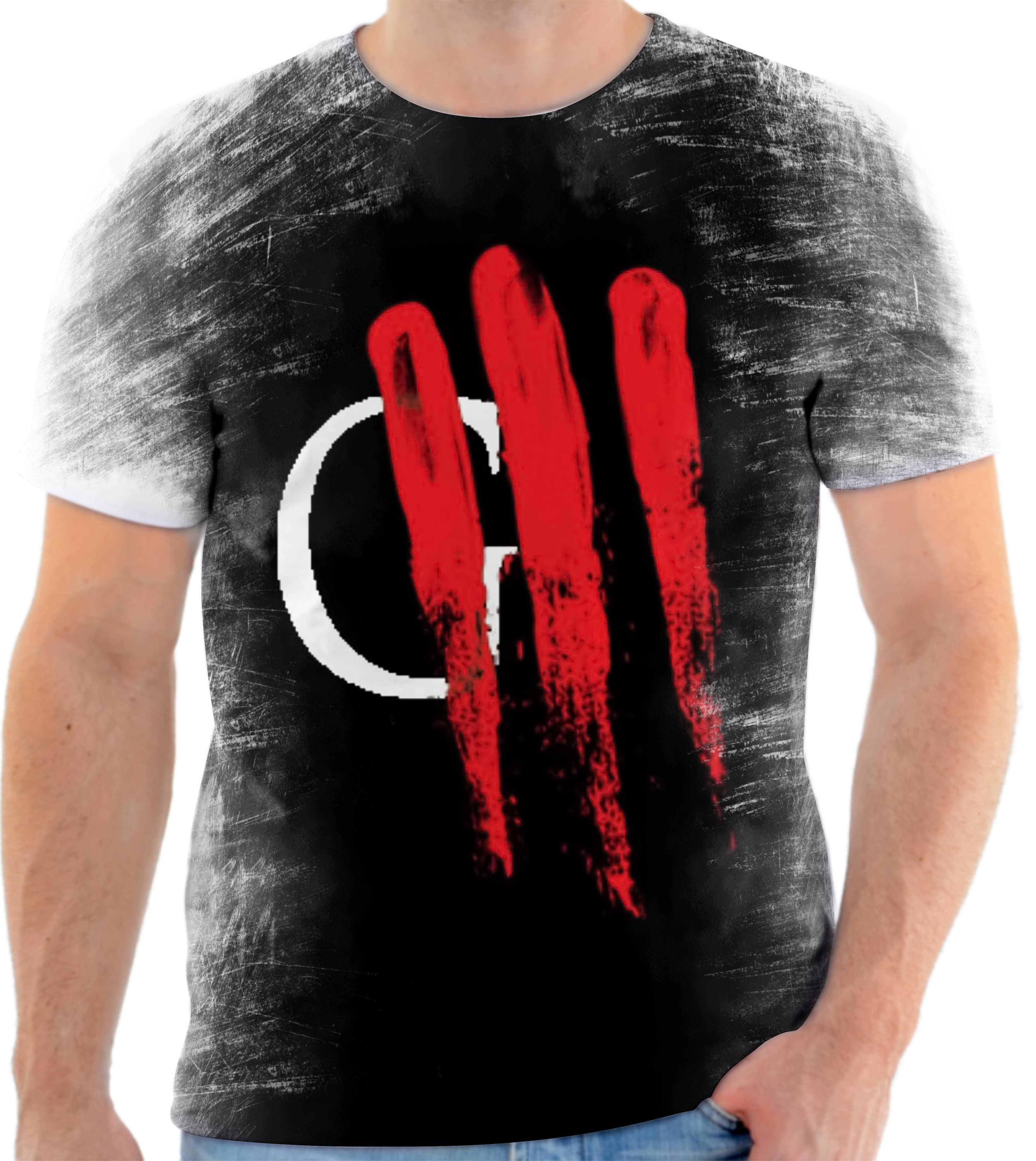 Camisa Camiseta Personalizada Banda De Rock Oficina G3 5 no Elo7 ... 86ddb056f3b58